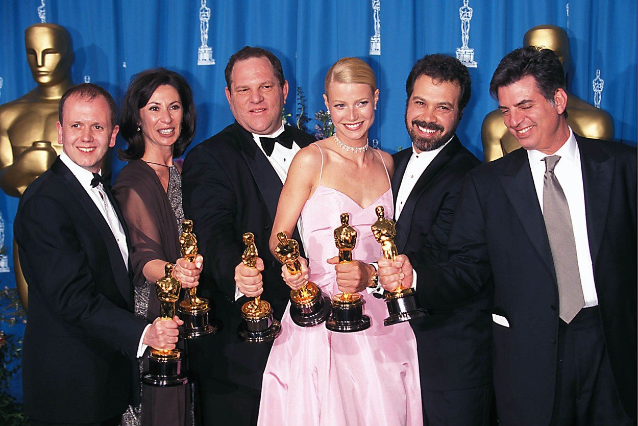 October 14, 2017 - FILE - Academy of Motion Picture Arts and Sciences board votes to strip Weinstein's membership. Harvey Weinstein, who more than anyone defined and shaped the sharp-elbowed art of Oscar campaigning, has been expelled from the group that presents the Academy Awards. Pictured: 71ST ACADEMY / OSCAR AWARDS, 03-21-1999. Harvey Weinstein Gwyneth Paltrow., Image: 352908171, License: Rights-managed, Restrictions: , Model Release: no, Credit line: Profimedia, Zuma Press - News