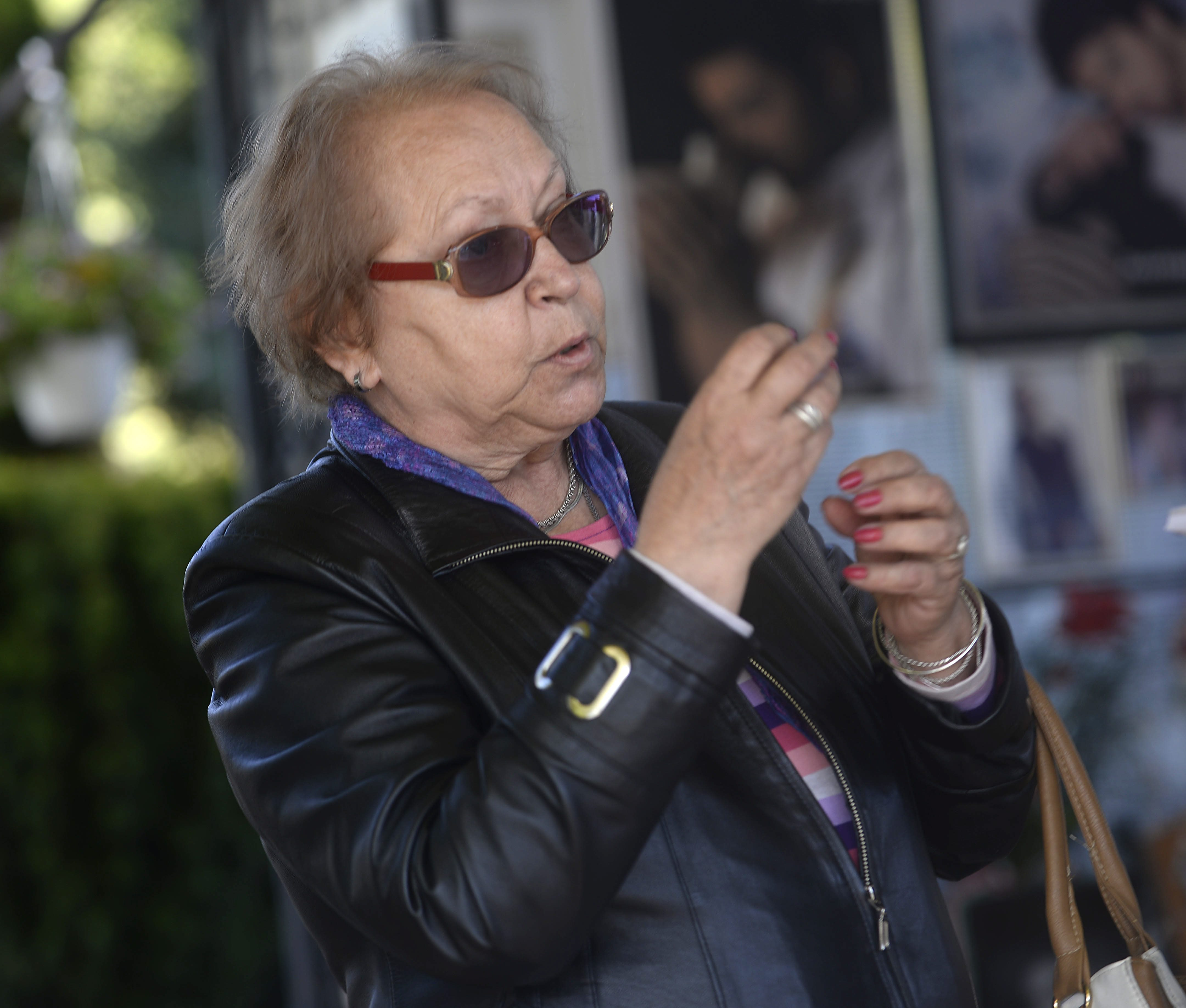 Krusevo, 141017. Obiljezavanje desete godisnjice smrti Tose Proeskog. Na fotografiji: Relja Pirganoski Foto: Maja Zlatevska / CROPIX