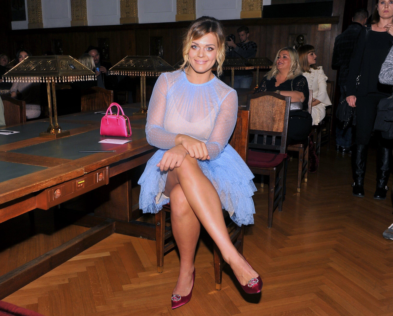 Sandra Perković u studenom 2016. godine na reviji Aleksandre Dojčinović