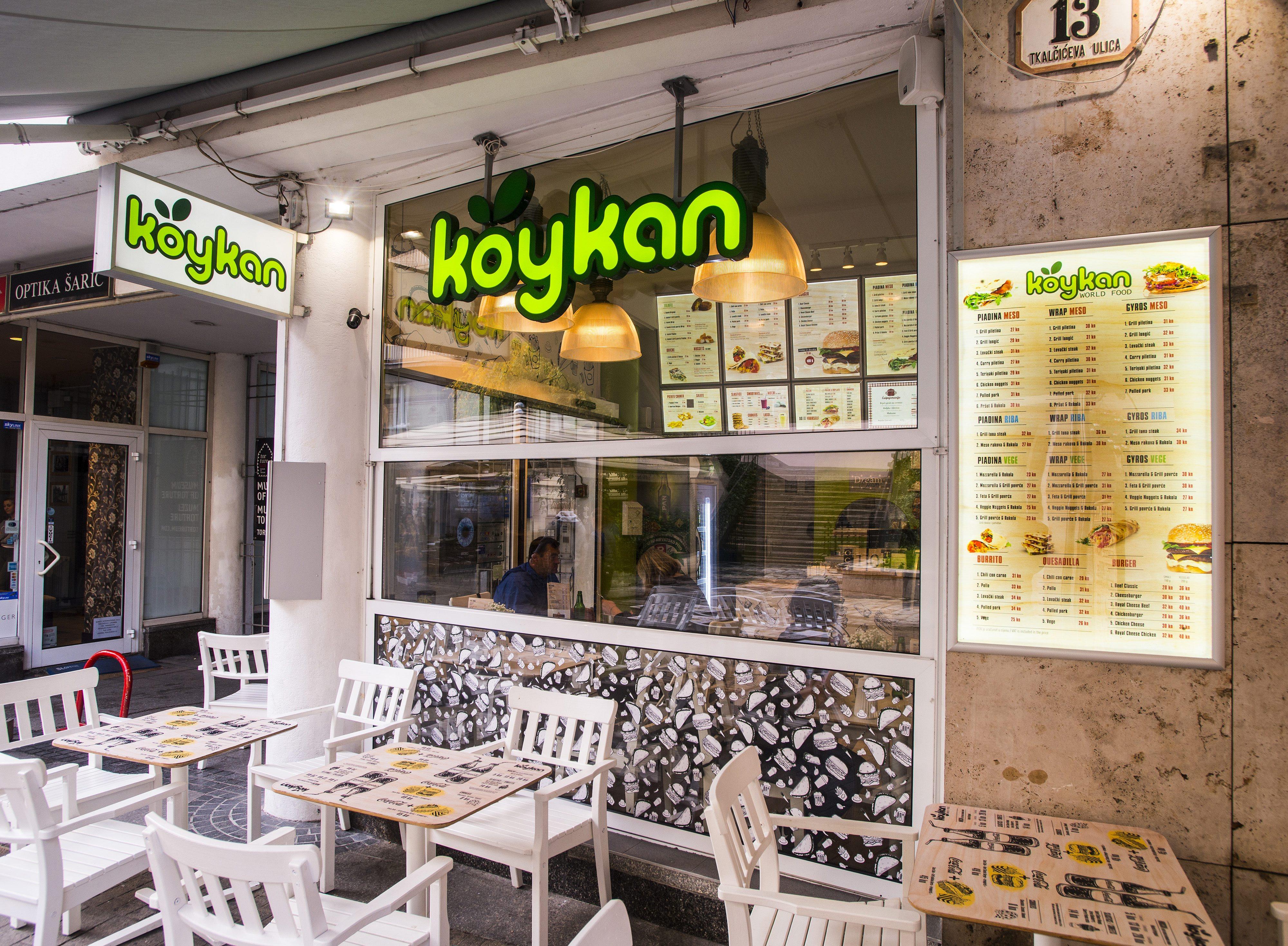 Zagreb, 101017. Tkalciceva 13. Koykan restoran wordl food.  Foto: Zeljko Grgic / Cropix