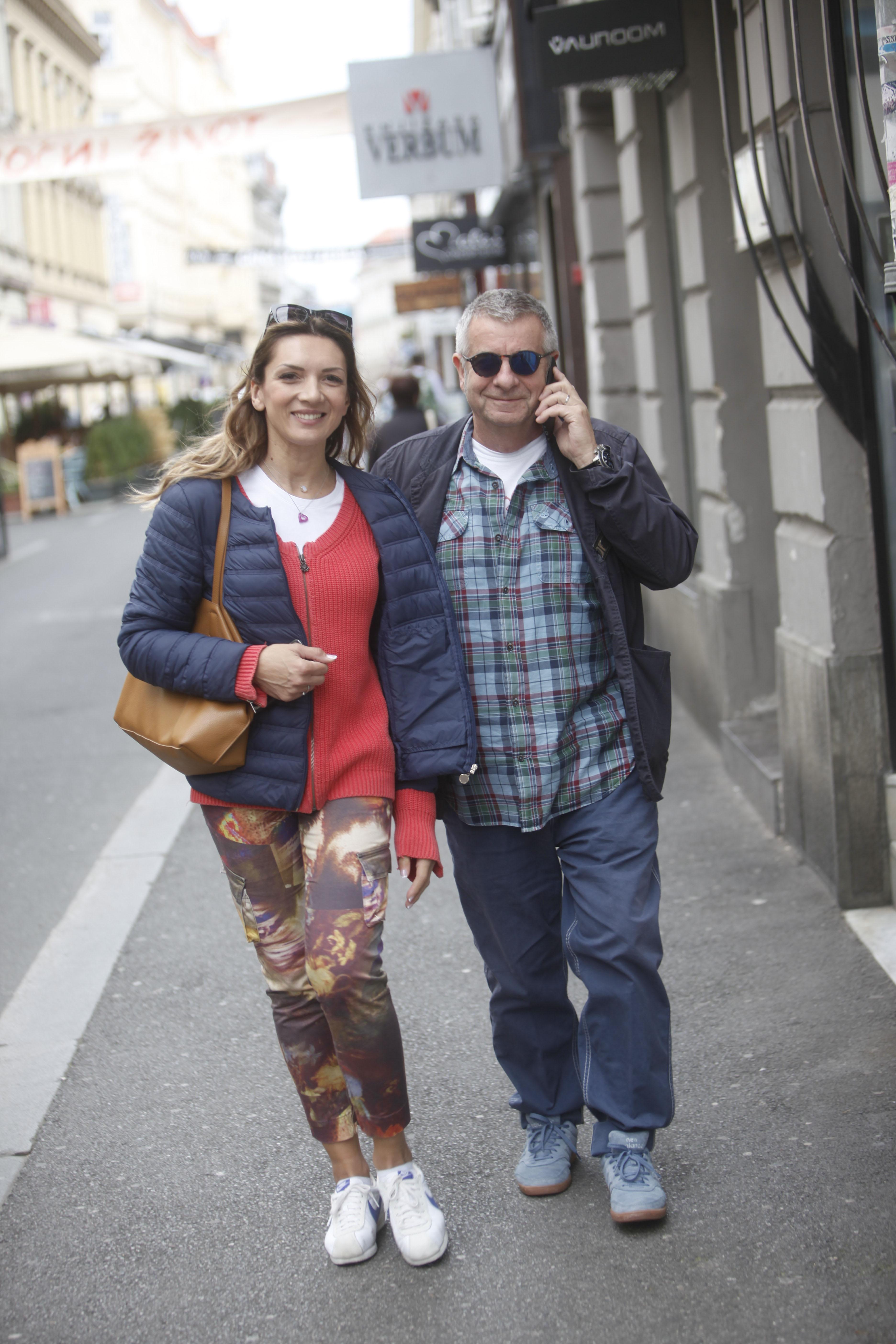 spica / Zagreb 14.09.2017. / foto: Davor Matota / Ivica Propadalo i supruga Dragana Todorovic