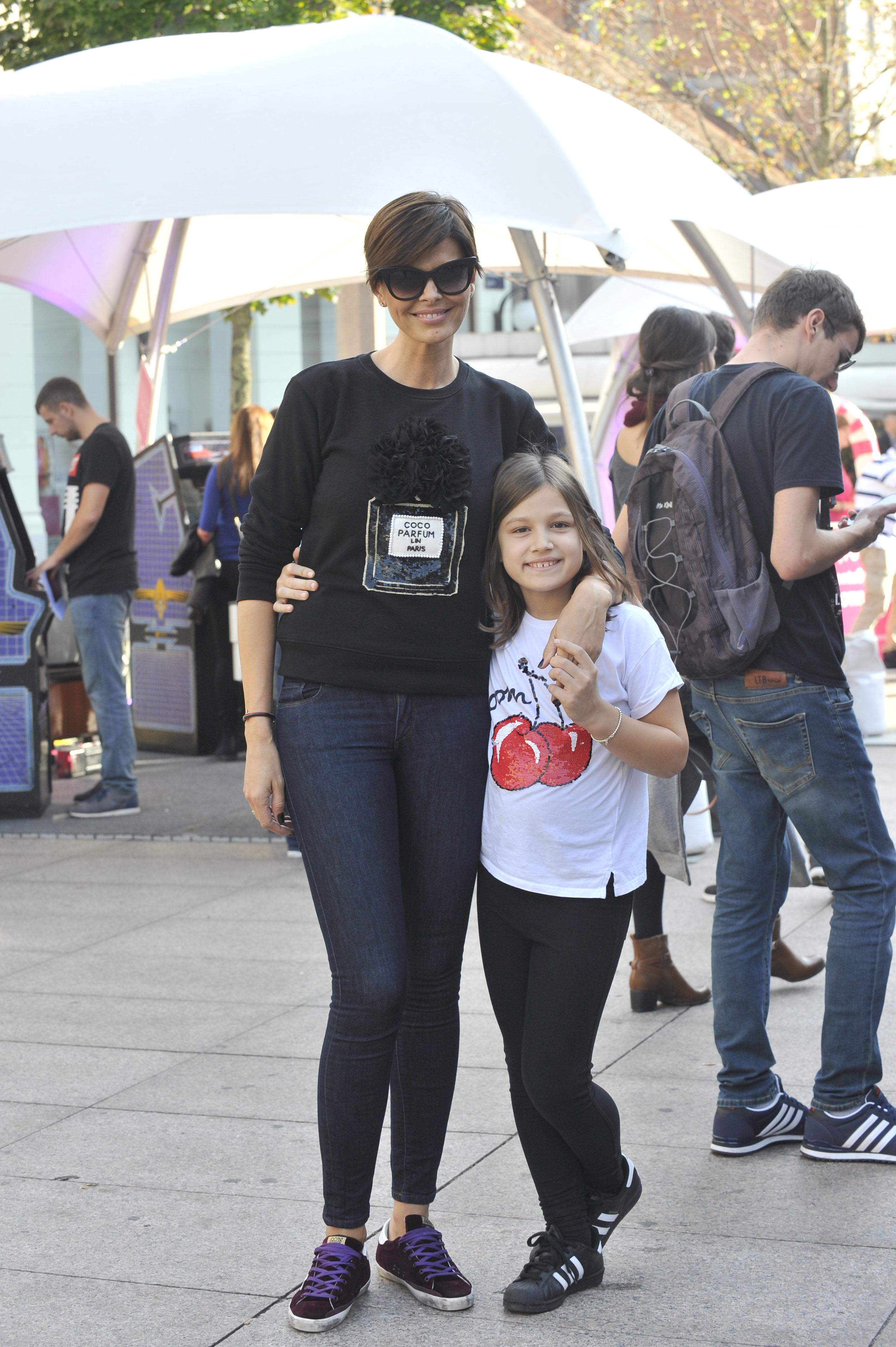 Anica Kovač i kći Viktorija na zagrebačkoj špici