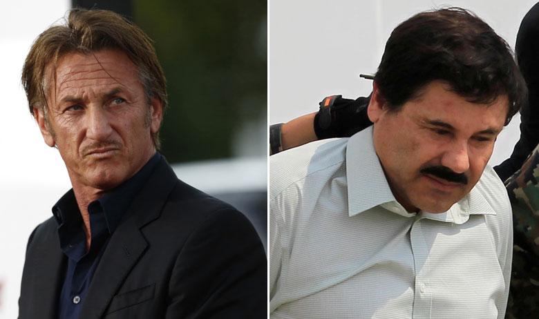 "Sean Penn i Joaquín Guzmán ""El Chapo"" Loera"