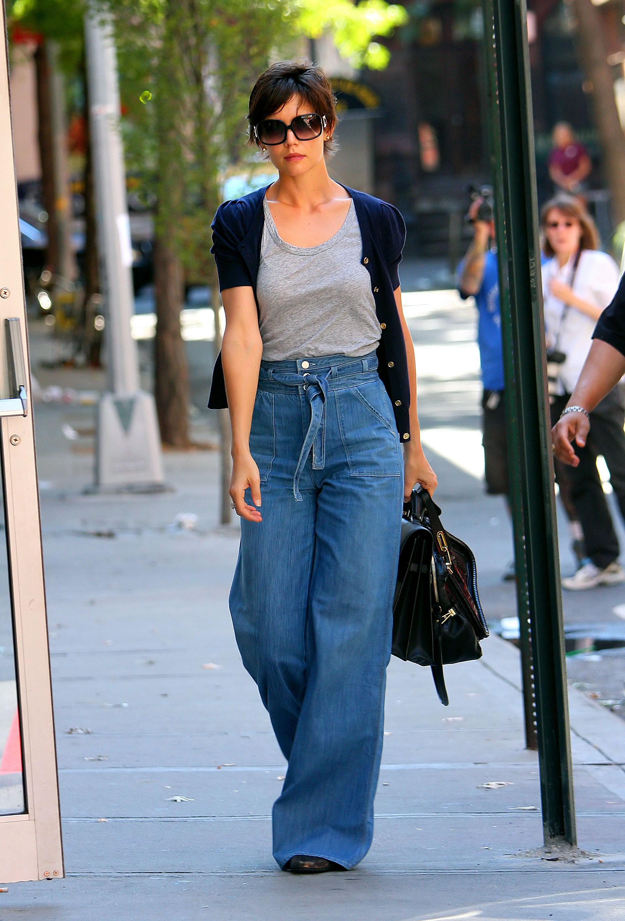 Katie Holmes arrives at rehearsals for her upcoming Broadway debut. <P> Pictured: Katie Holmes <P> <B>Ref: SPL43457 090808 </B><br> Picture by: Jackson Lee / Splash News </P><P> <B>Splash News and Pictures</B><br> Los Angeles: 310-821-2666<br> New York: 212-619-2666<br> London: 870-934-2666<br> <span id=