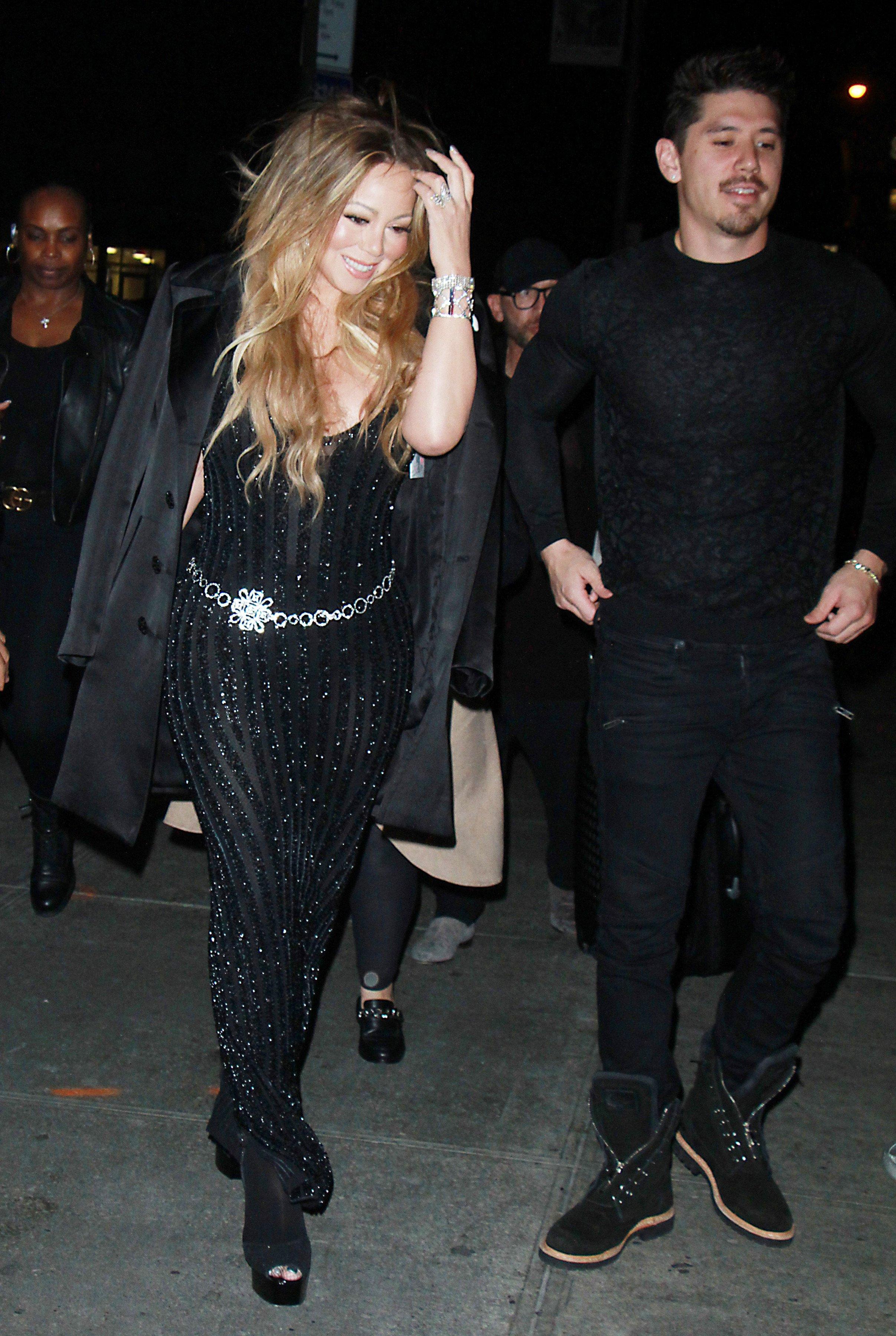 Mariah Carey i dečko Bryan Tanaka na večeri V magazina