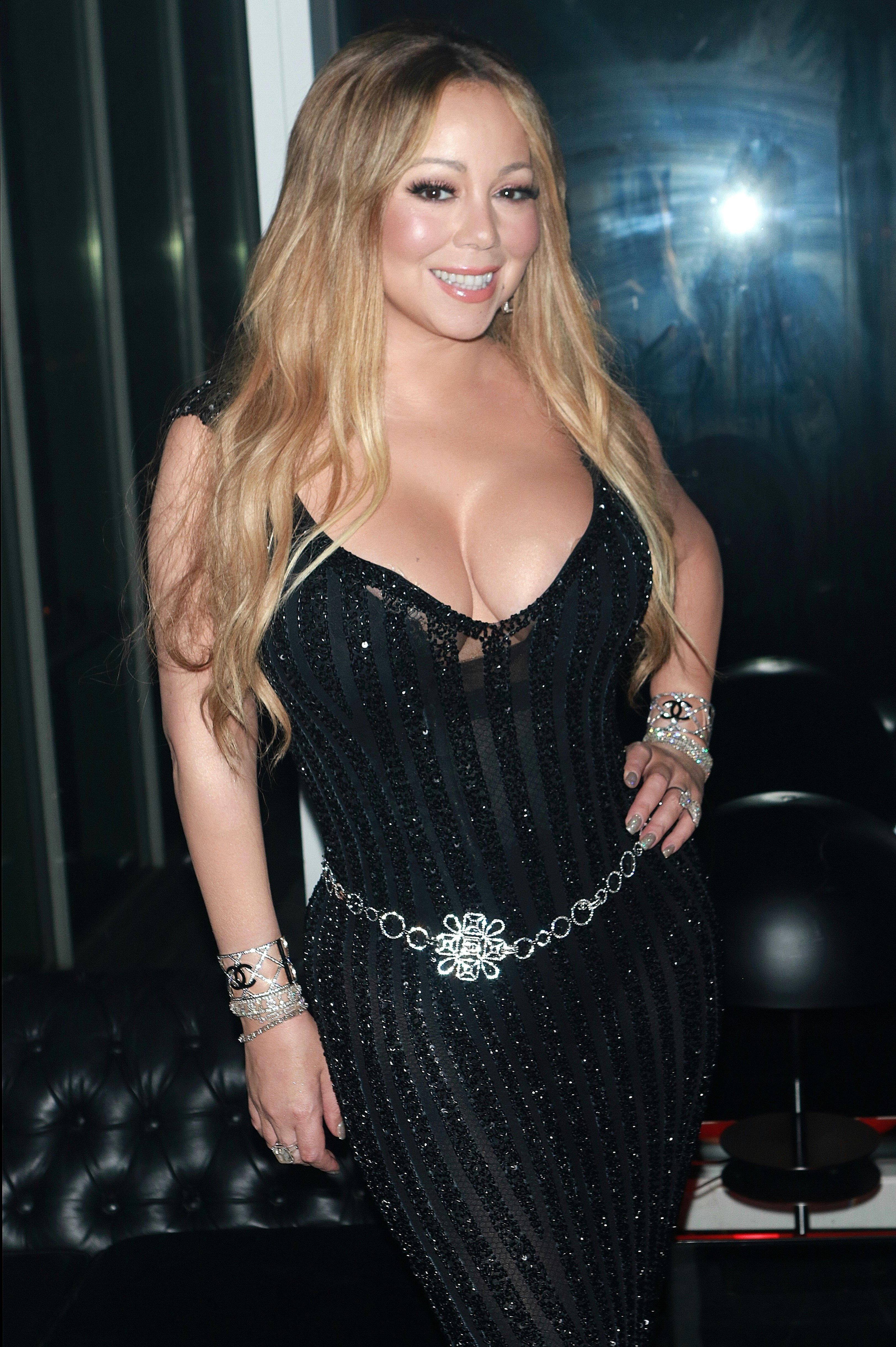 , New York, NY - 10/23/17 Mariah Carey at the after party for the V Magazine Dinner in honor of Karl Lagerfeld Le Bain.  -PICTURED: Mariah Carey -, Image: 353759897, License: Rights-managed, Restrictions: , Model Release: no, Credit line: Profimedia, INSTAR Images