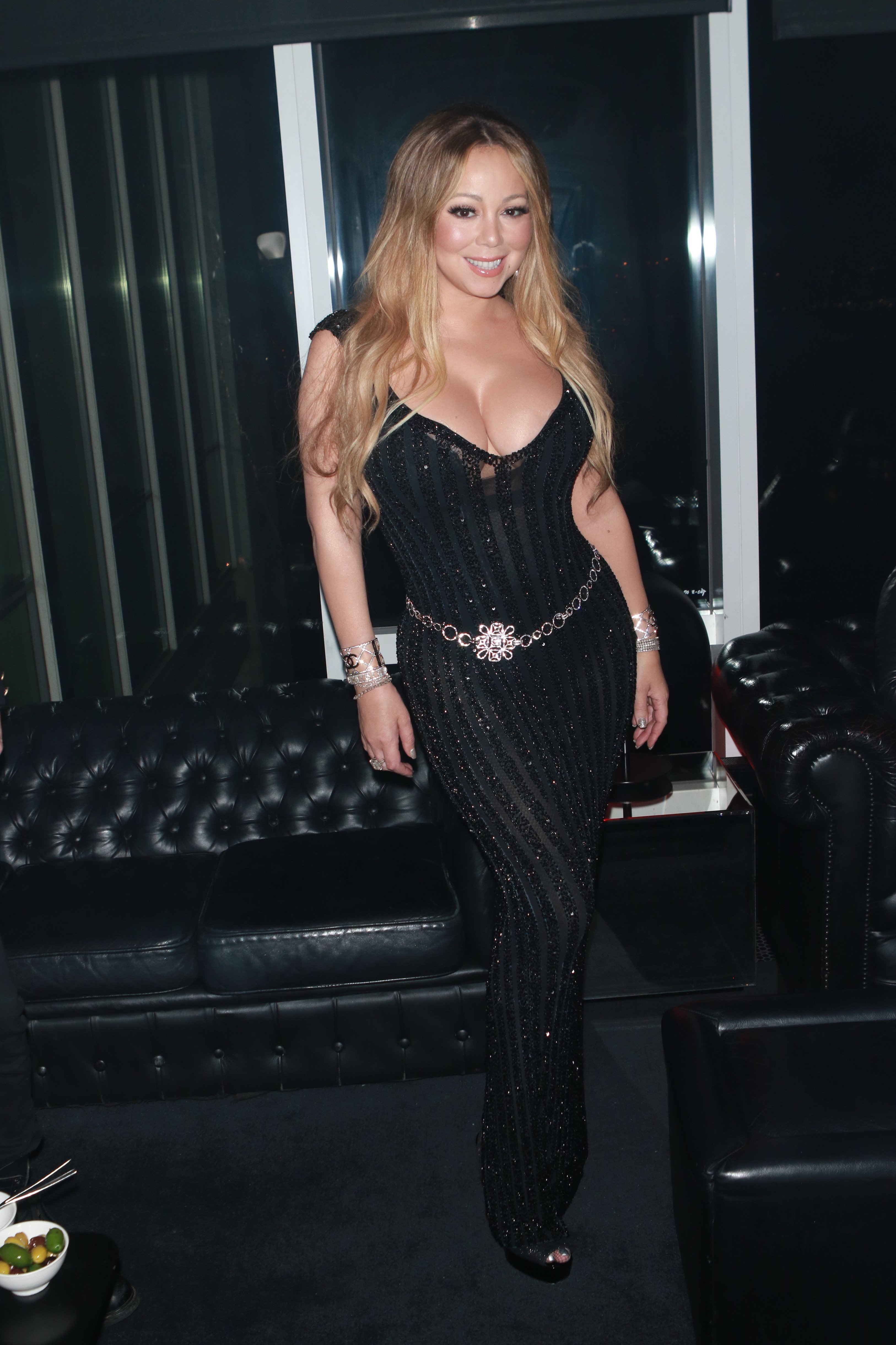 , New York, NY - 10/23/17 Mariah Carey at the after party for the V Magazine Dinner in honor of Karl Lagerfeld Le Bain.  -PICTURED: Mariah Carey -, Image: 353760222, License: Rights-managed, Restrictions: , Model Release: no, Credit line: Profimedia, INSTAR Images