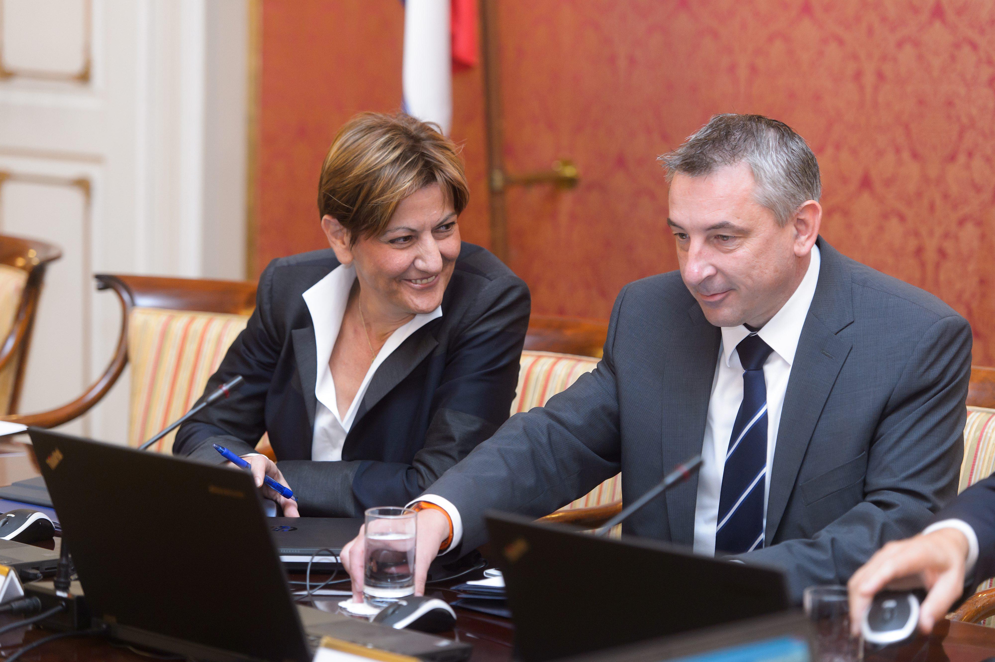Martina Dalić i Predrag Štromar