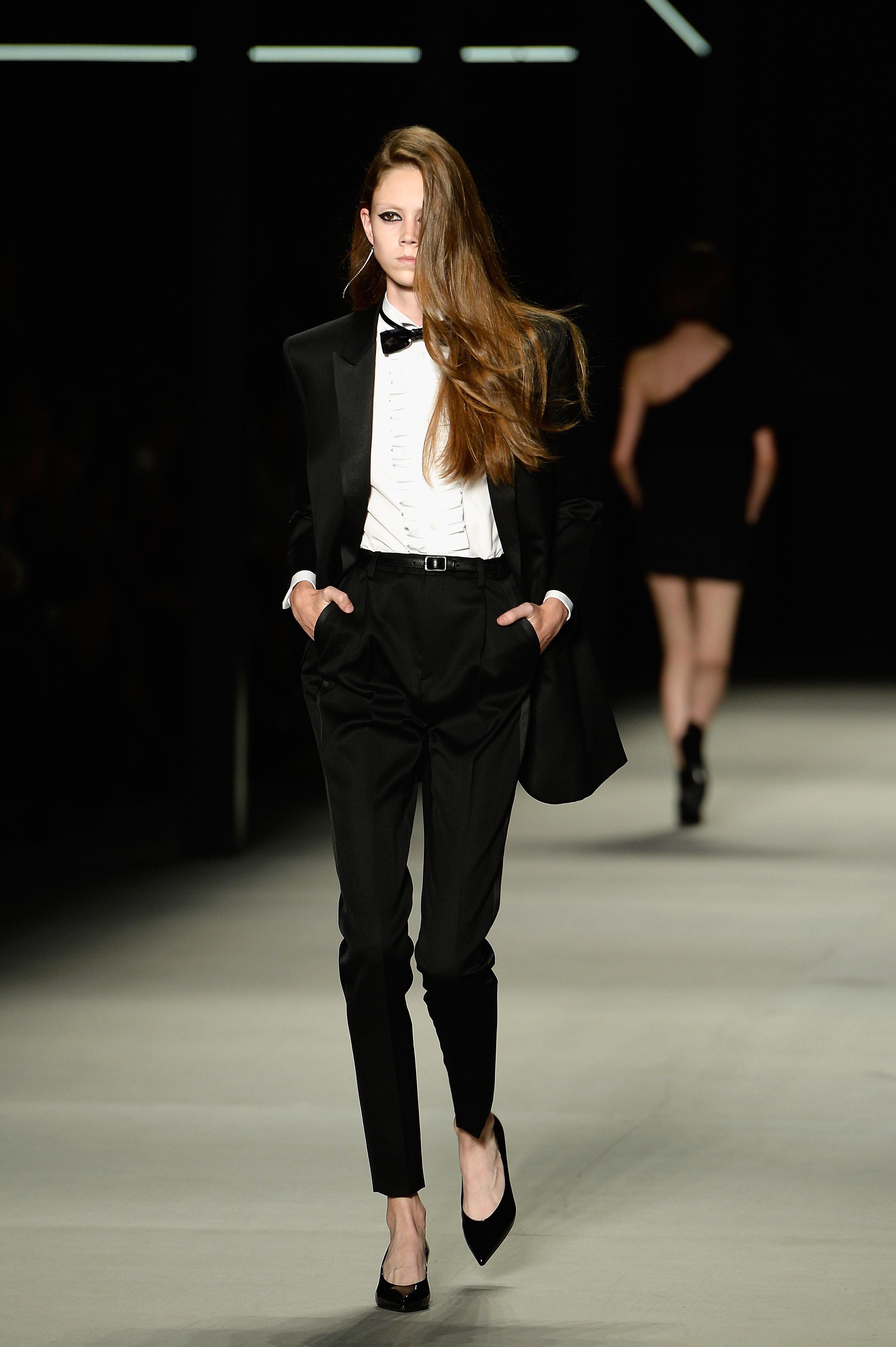 Francuski dizajner je muškim komadima kao što su smoking i odijelo od tvida udahnuo ženstvenu dimenziju