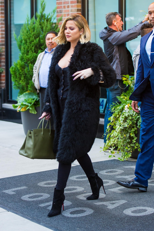 Navodno trudna Khloe Kardashian, 26.10.2017