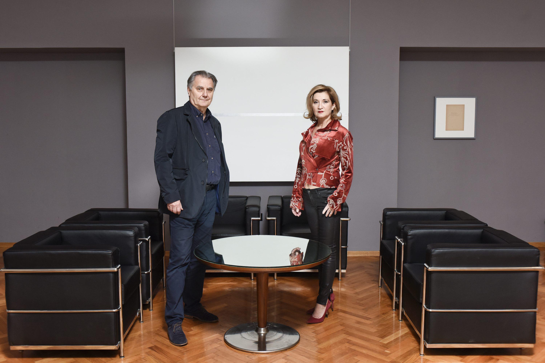 Nenad Fabijanić i Mirjana Dugandžija