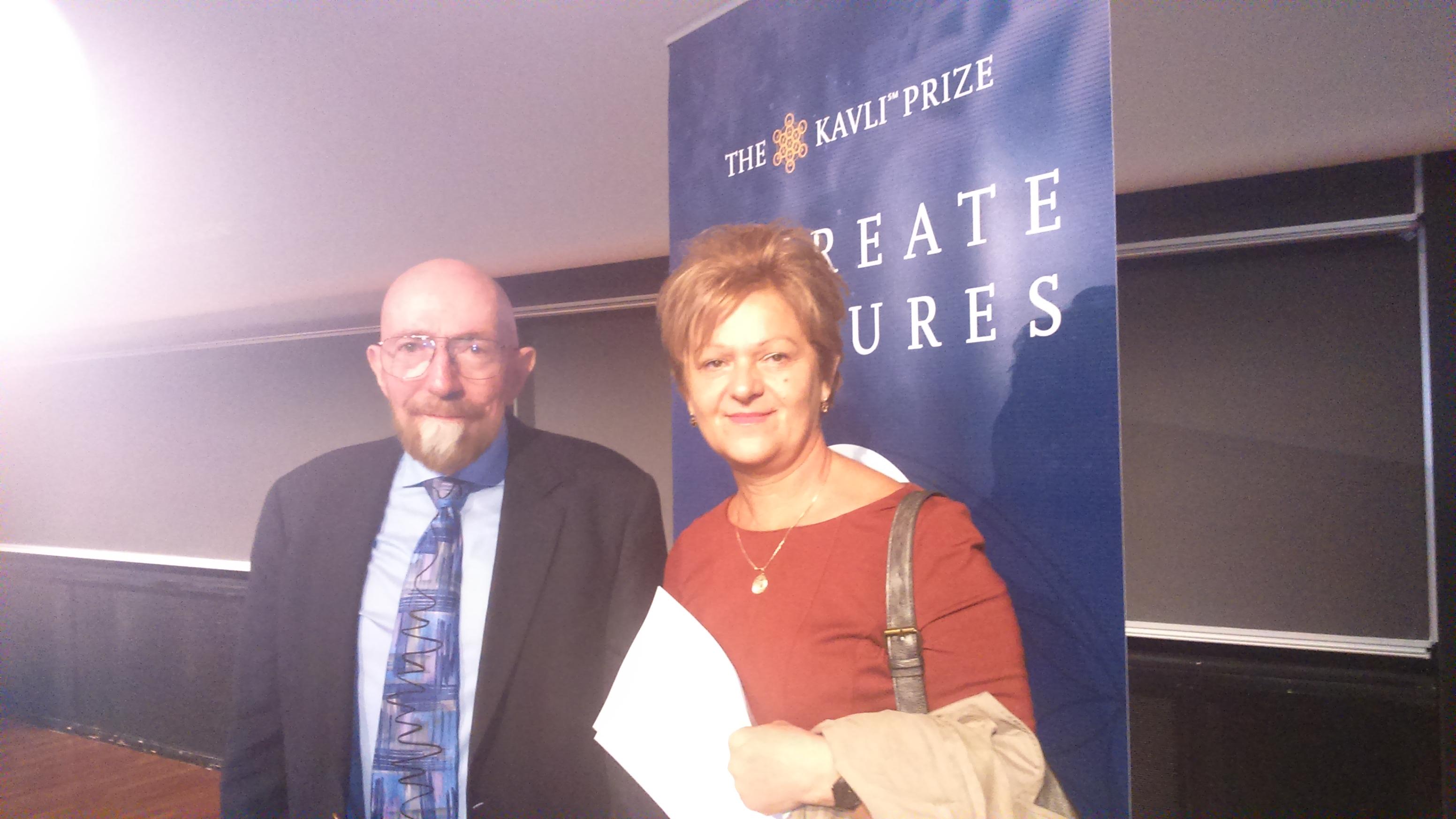 Dobitnik Nobelove nagrade Kip Thorne i novinarka Jutarnjeg lista Tanja Rudež