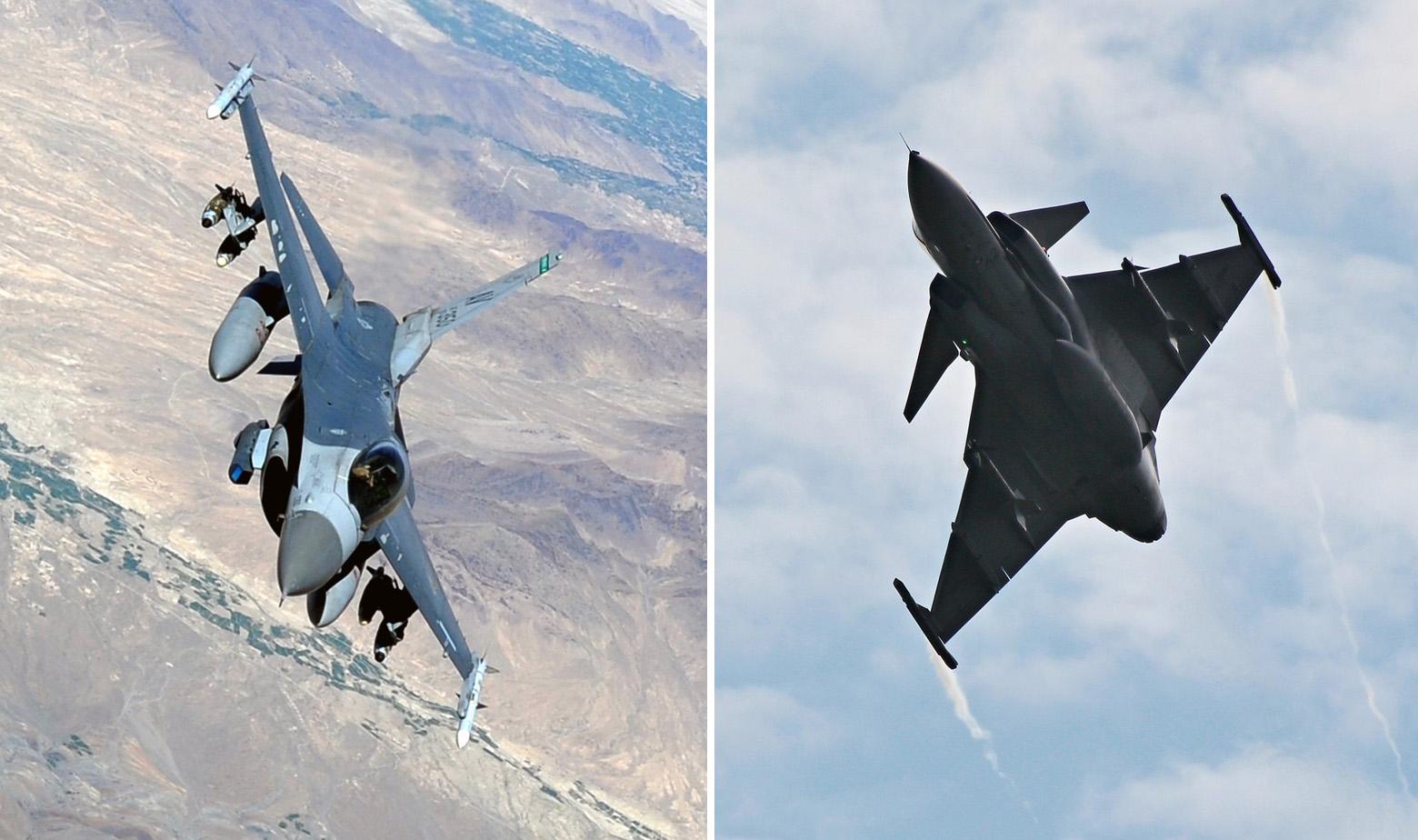 F-16 i JAS 39 Gripen