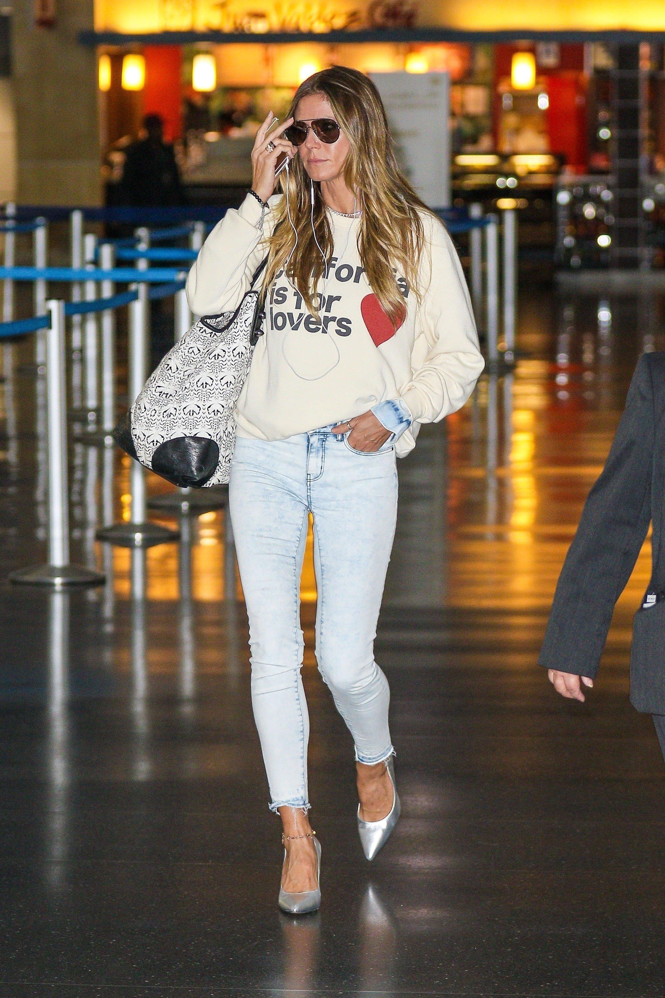 Heidi Klum u zračnoj luci u New Yorku