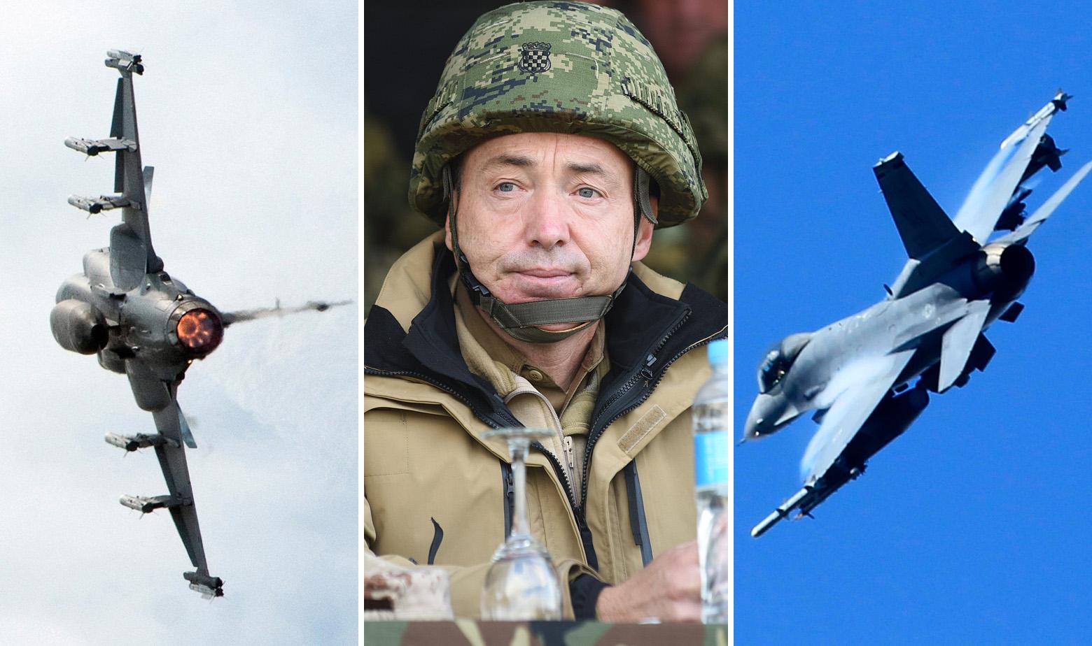 JAS 39 Gripen, Damir Krstičević i F-16