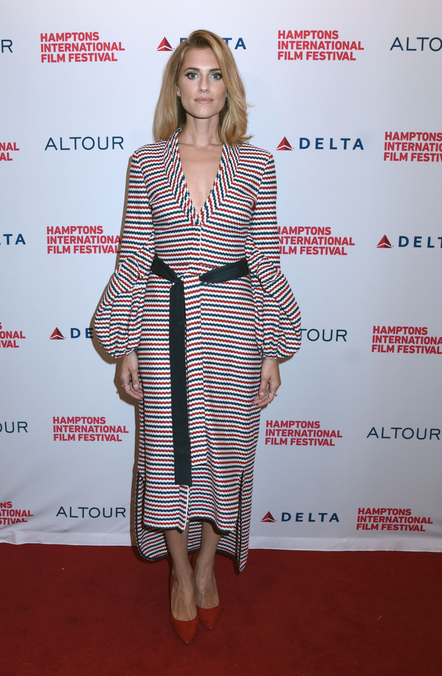 Celebrities attend the 25th Annual Hamptons International Film Festival: Anatomy of a Scene:' Get Out' held at the Bay Street Theater at Sag Harbor in New York City.  <P> Pictured: Allison Williams <B>Ref: SPL1597674  081017  </B><BR/> Picture by: Photo Image Press<BR/> </P><P> <B>Splash News and Pictures</B><BR/> Los Angeles:310-821-2666<BR/> New York:212-619-2666<BR/> London:870-934-2666<BR/> <span id=