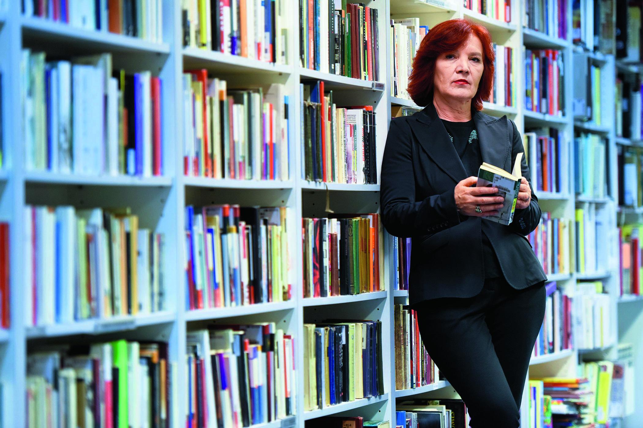 Jasna Kovačević, voditeljica Knjižnice i čitaonice Bogdan Ogrizović