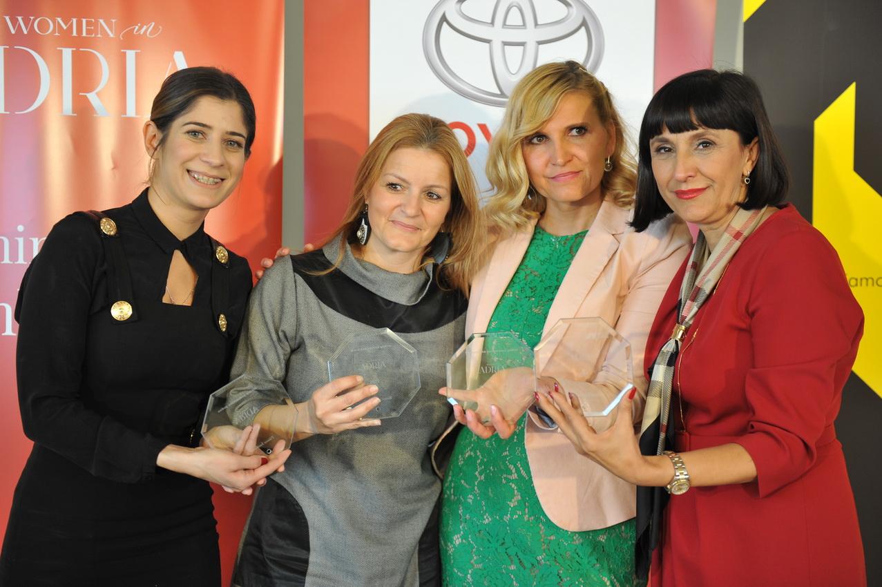 Tihana Šmitran, Anamarija Cicarelli, Selma Smajić i Josipa Maslać-Petričević