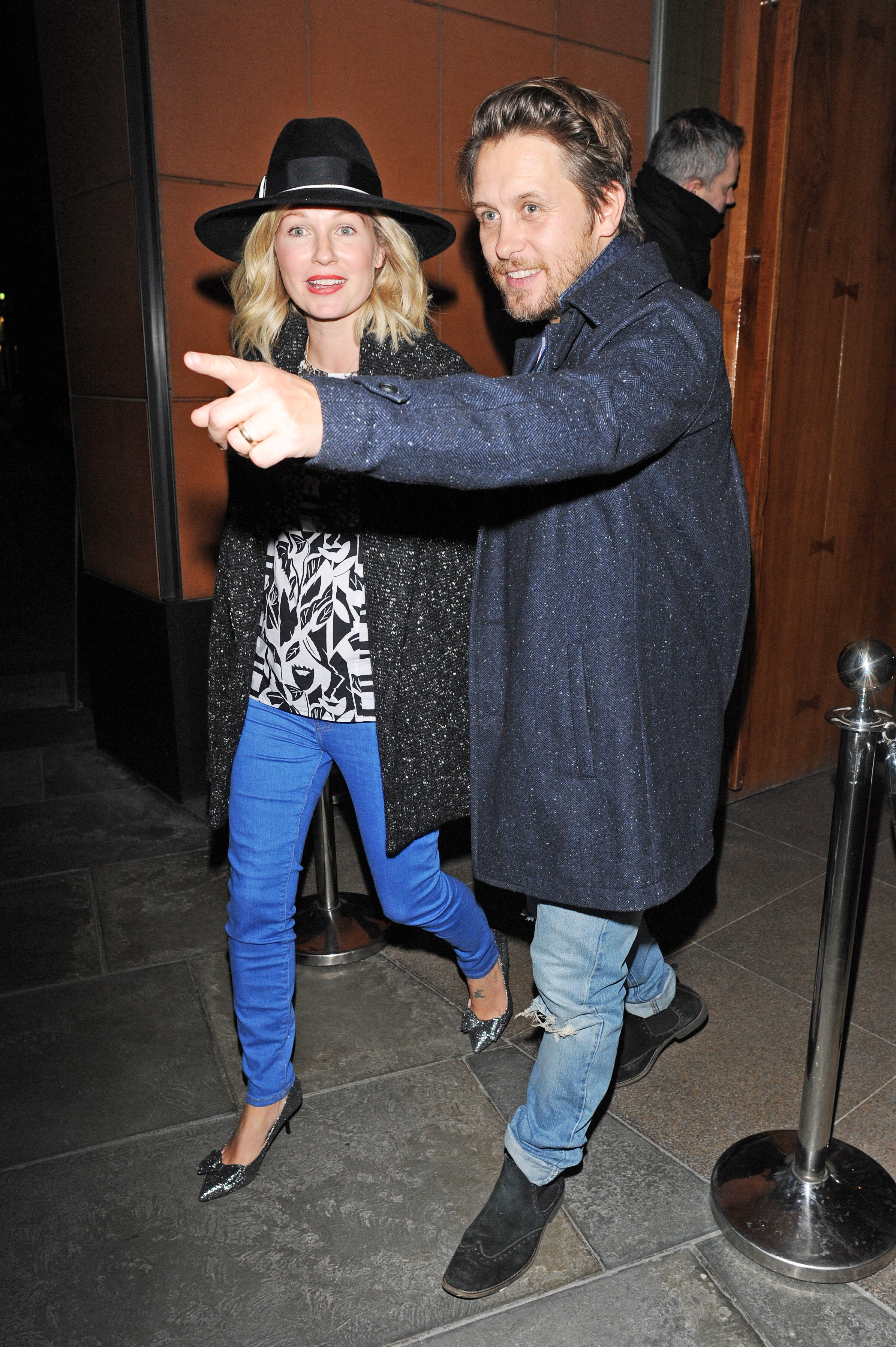 27 Jan 2015 - LONDON - UK  TAKE THAT MEMBERS GARY BARLOW, MARK OWEN AND WIFE EMMA FERGUSON, AND HOWARD DONALD ENJOY DINNER AT ZUMA RESTAURANT IN KNIGHTSBRIDGE IN LONDON., Image: 216506178, License: Rights-managed, Restrictions: PLEASE CREDIT AS PER BYLINE *UK CLIENTS - PLEASE PIXELATE CHILDS FACE BEFORE PUBLICATION***UK CLIENTS MUST CALL PRIOR TO TV OR ONLINE USAGE PLEASE CALL  44 208 344 2007, Model Release: no, Credit line: Profimedia, Xposurephotos