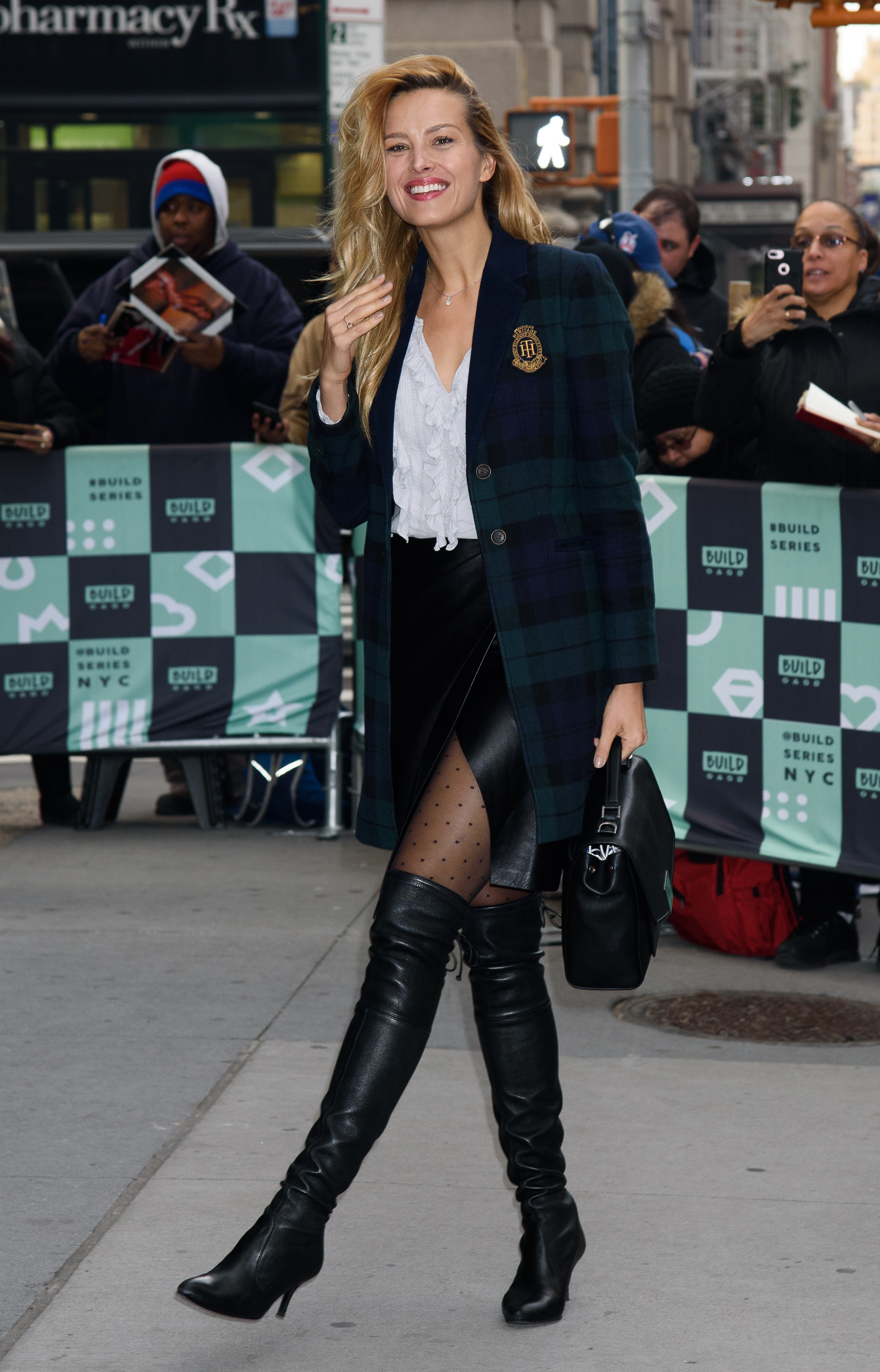 Celebrity Guests at AOL Build in NYC AOL Studio, NY <P> Pictured: Petra Nemcova <B>Ref: SPL1623067  141117  </B><BR/> Picture by: Janet Mayer / Splash News<BR/> </P><P> <B>Splash News and Pictures</B><BR/> Los Angeles:310-821-2666<BR/> New York:212-619-2666<BR/> London:870-934-2666<BR/> <span id=