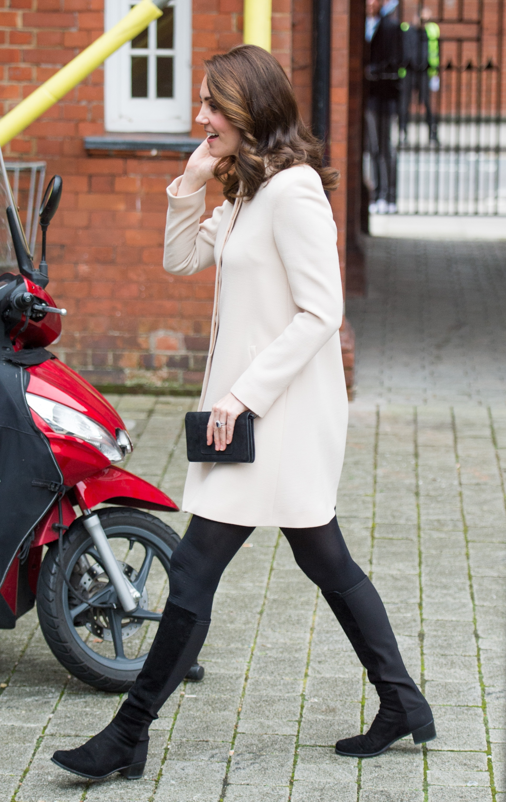 Photo Credit Must Read Zak Hussein<BR/> Catherine, the Duchess of Cambridge visits Hornsey Road Children's Centre in London <P> Pictured: Catherine, the Duchess of Cambridge <B>Ref: SPL1623353  141117  </B><BR/> Picture by: Zak Hussein<BR/> </P><P>