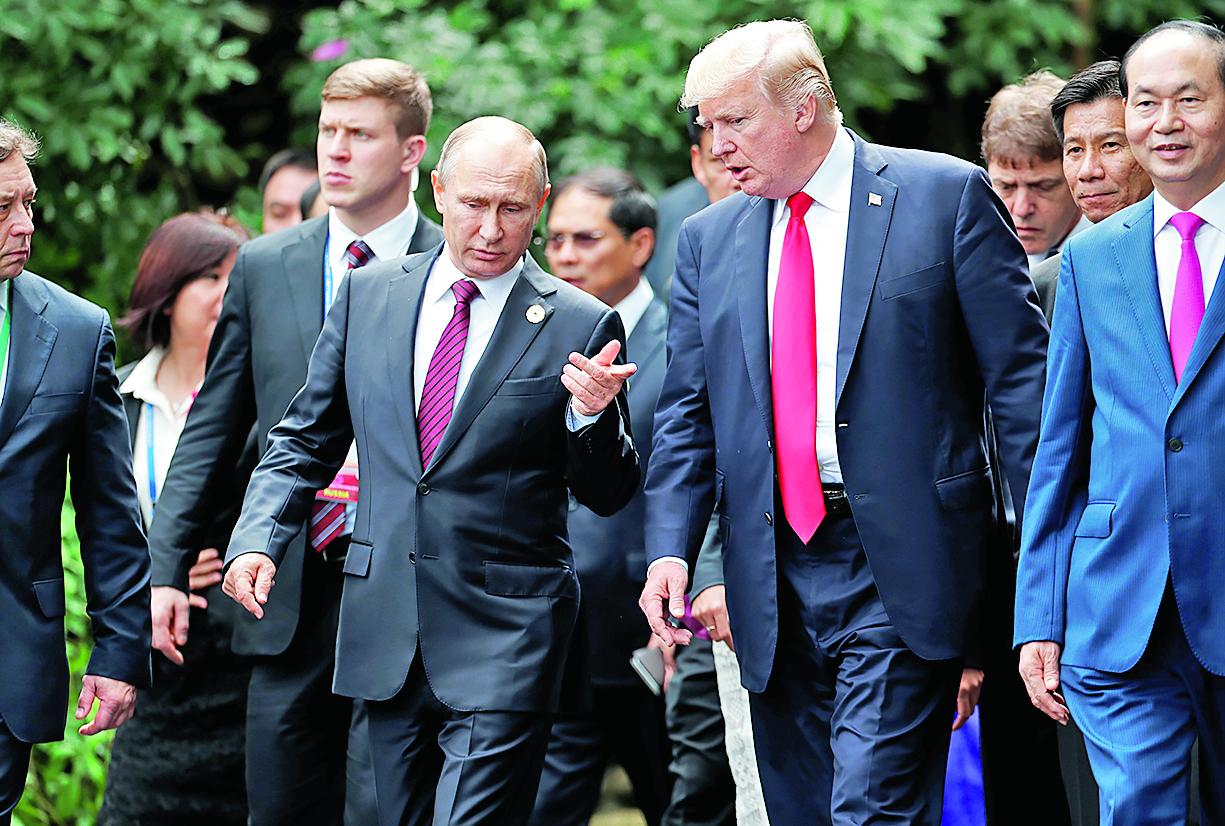 Vladimir Putin i Donald Trump