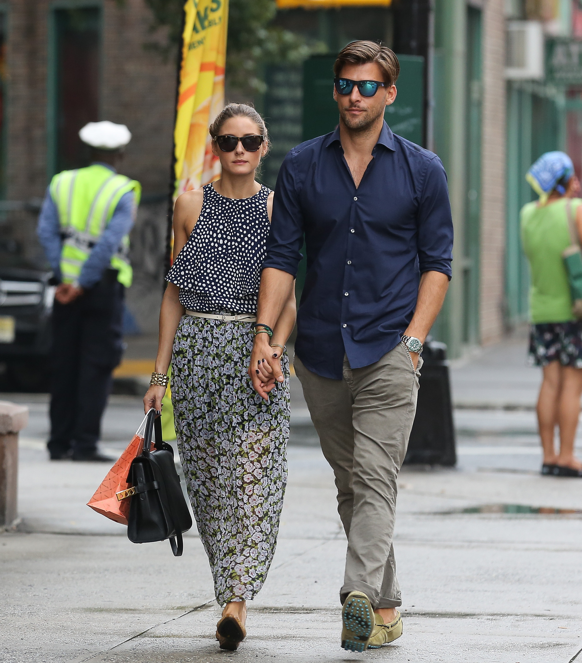 Olivia Palermo and boyfriend Johannes Huebl seen out and about in West Village, New York City, USA on September 12, 2013. <P> Pictured: Olivia Palermo and Johannes Huebl <P><B>Ref: SPL611174  120913  </B><BR/> Picture by: GSNY / Splash News<BR/> </P><P> <B>Splash News and Pictures</B><BR/> Los Angeles:310-821-2666<BR/> New York:212-619-2666<BR/> London:870-934-2666<BR/> <span id=