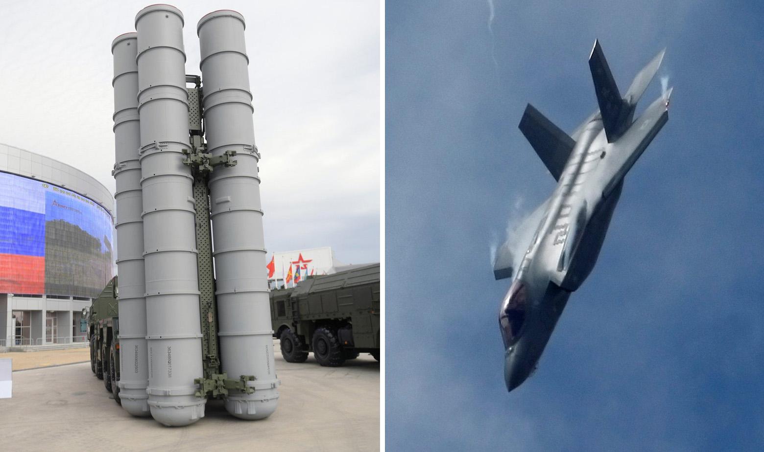 Ilustracija: S-400 raketni sustav i F-35A na aeromitingu u Parizu