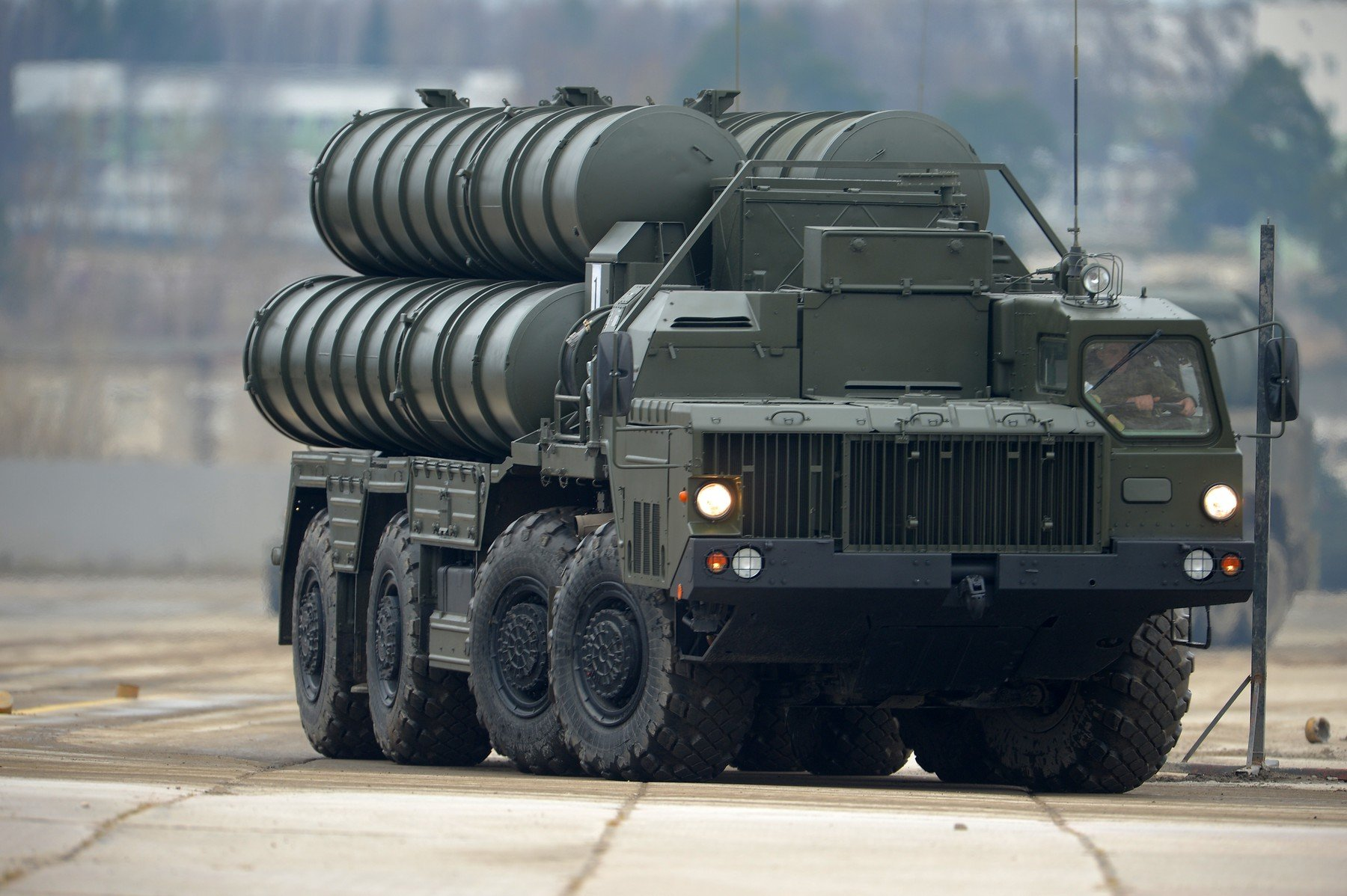 S-400 raketni sustav na paradi za Dan pobjede