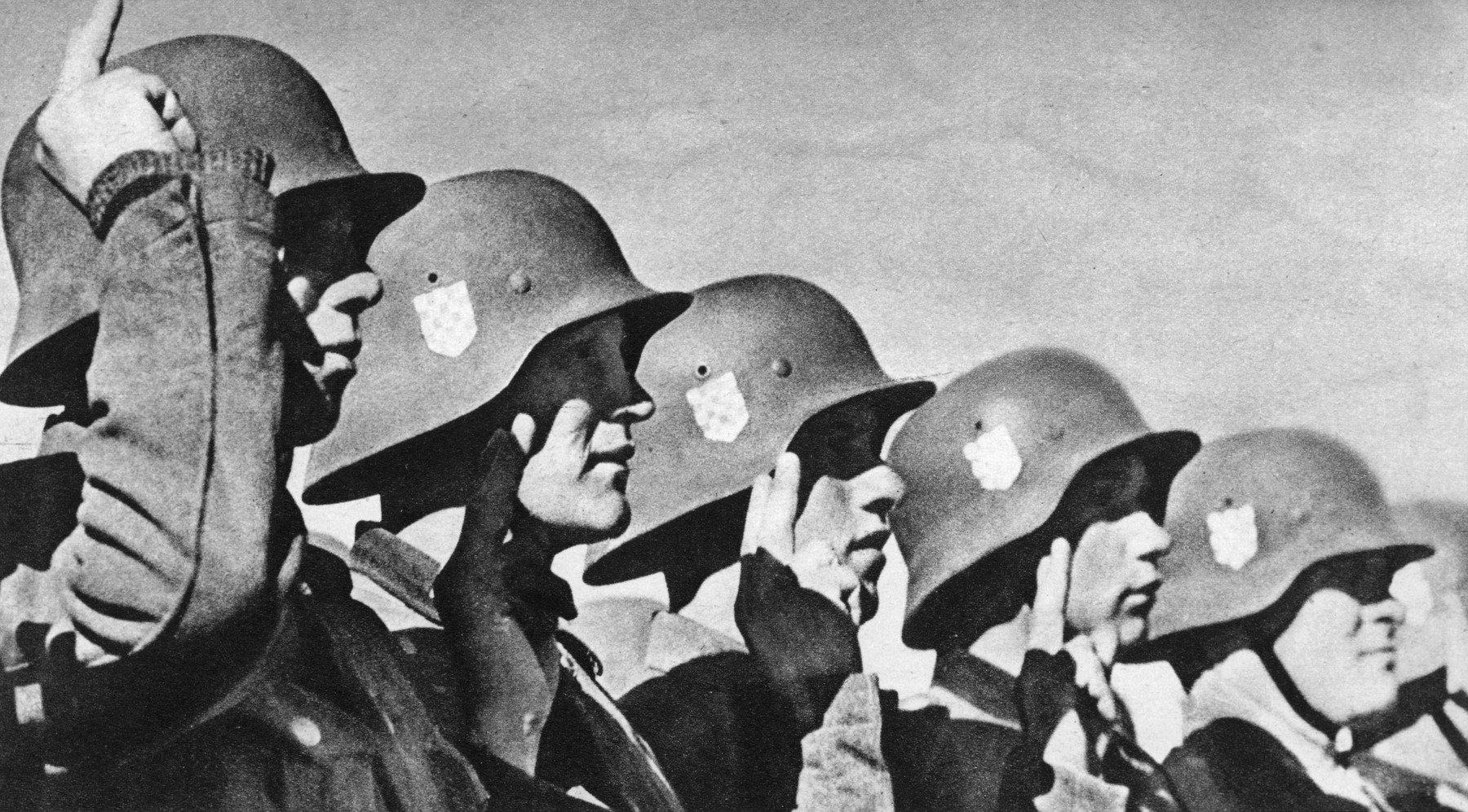 Ilustracija: Pripadnici ustaša, 1943.