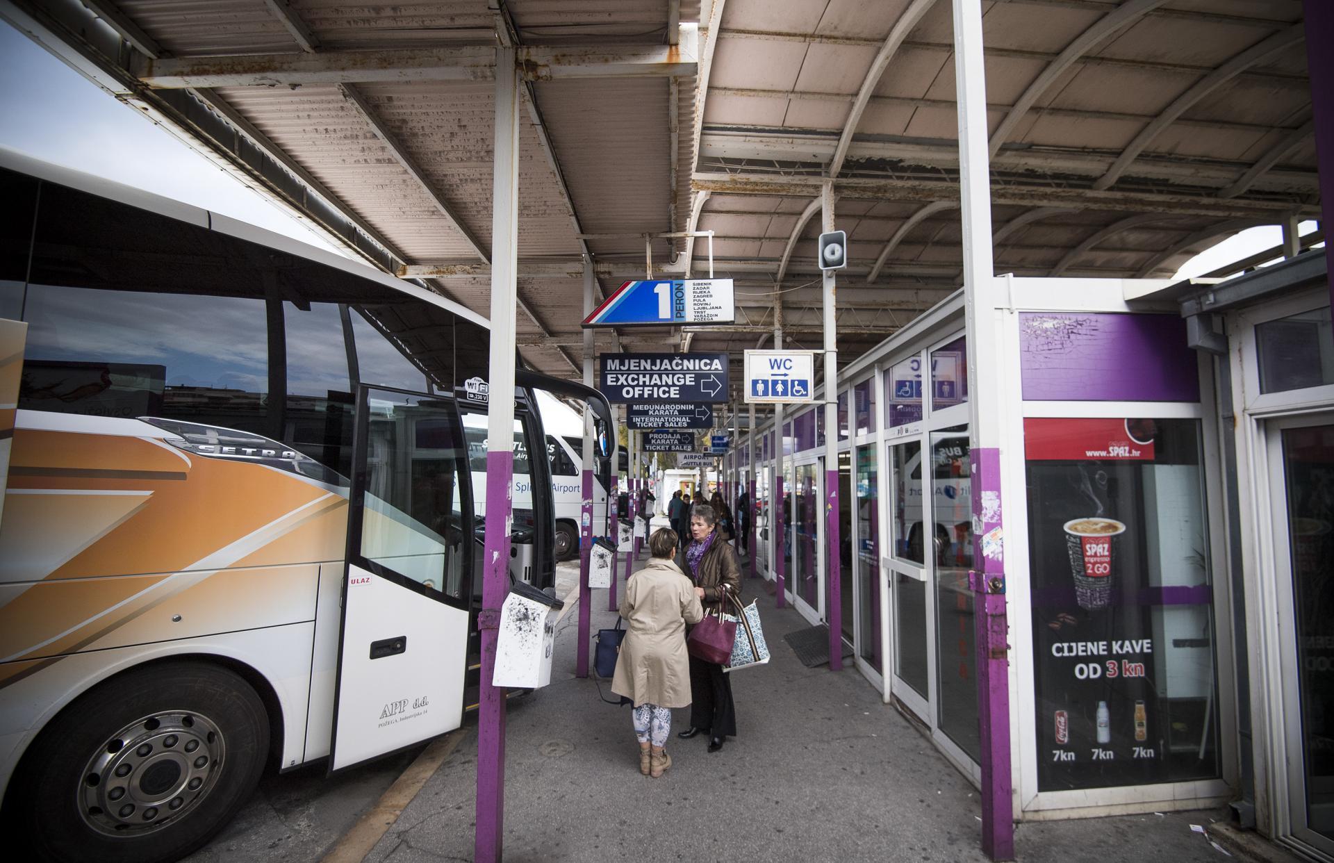 Autobusni kolodvor u Splitu