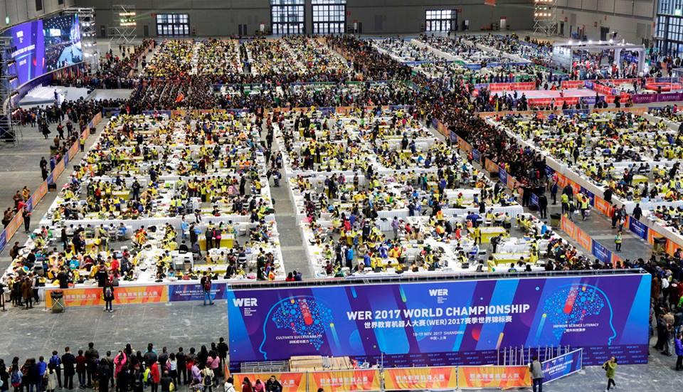 Svjetsko natjecanje u edukacijskoj robotici (World Education Robotics - WER) u Šangaju