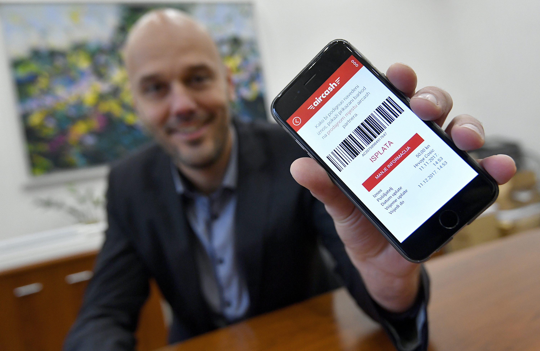 Hrvoje Ćosić, dizajner aplikacije Aircash