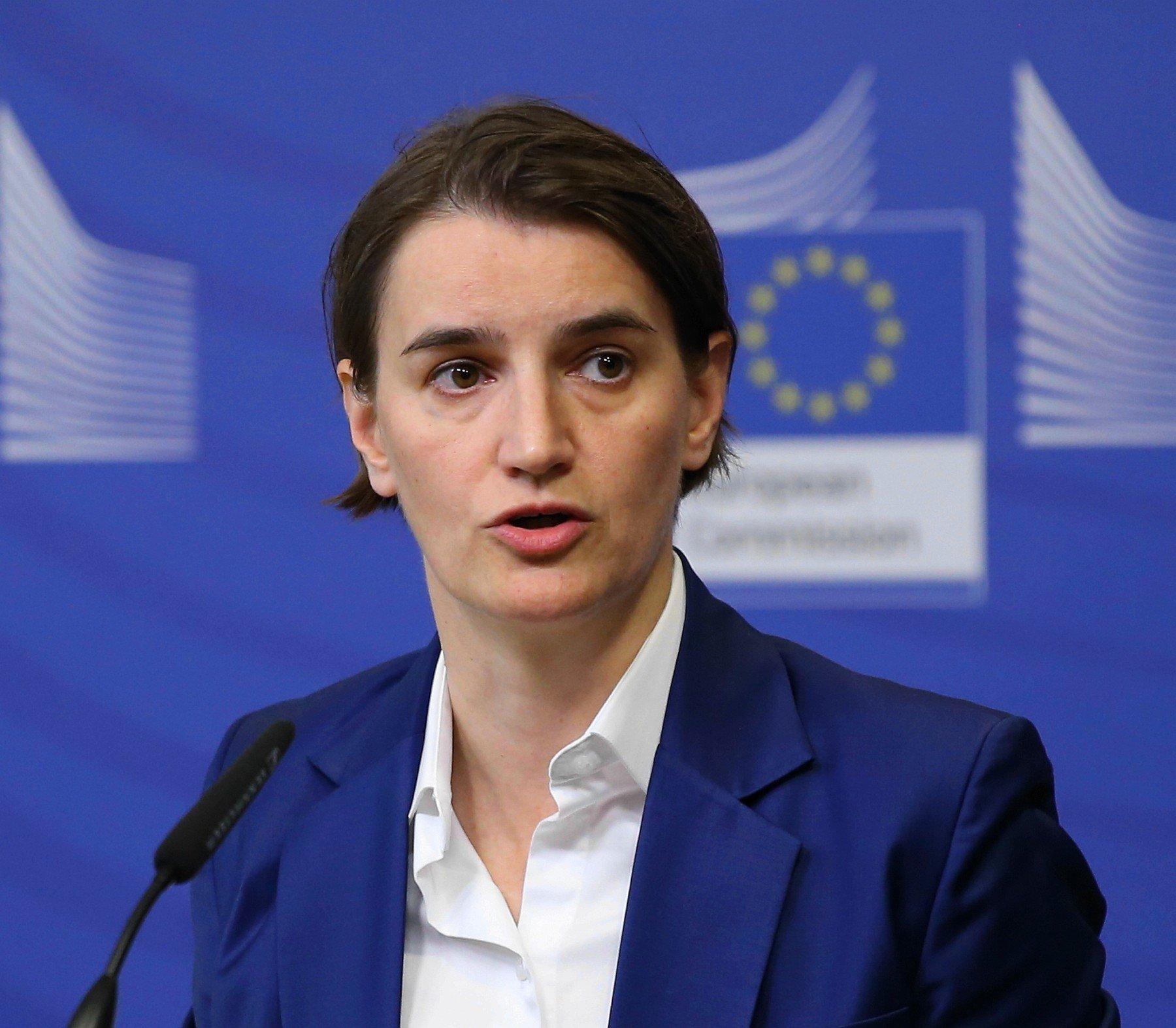Ana Brnabić, premijerka Srbije