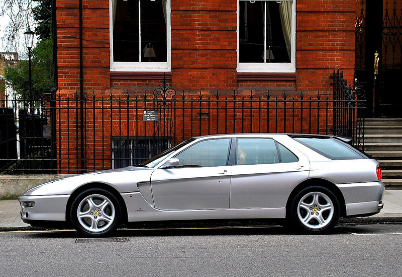 1996 Ferrari 456 GT Venice; top car design rating and specifications