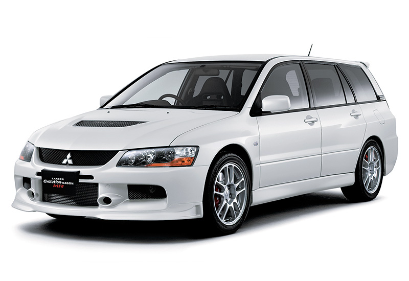 2006 Mitsubishi Lancer Evolution IX Wagon MR - top car design rating and specifications