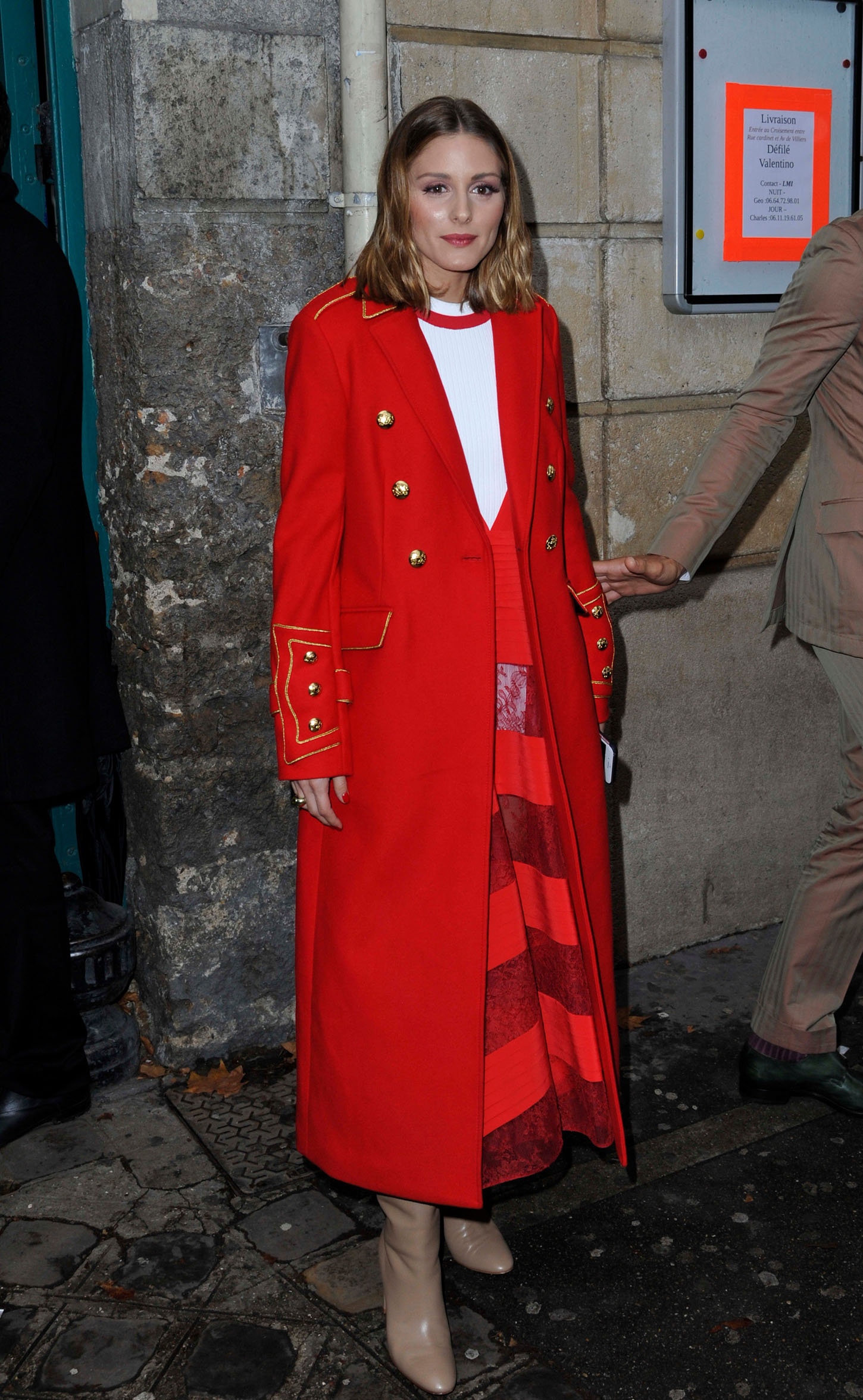October 2, 2017 - Paris, France - October 1 2O17, PARIS FRANCE the Valentino Show Spring Summer 2010/2018. Olivia Palermo leaves the show., Image: 351398617, License: Rights-managed, Restrictions: * Belgium, France, Germany and United Kingdom Rights OUT *, Model Release: no, Credit line: Profimedia, Zuma Press - Entertaiment