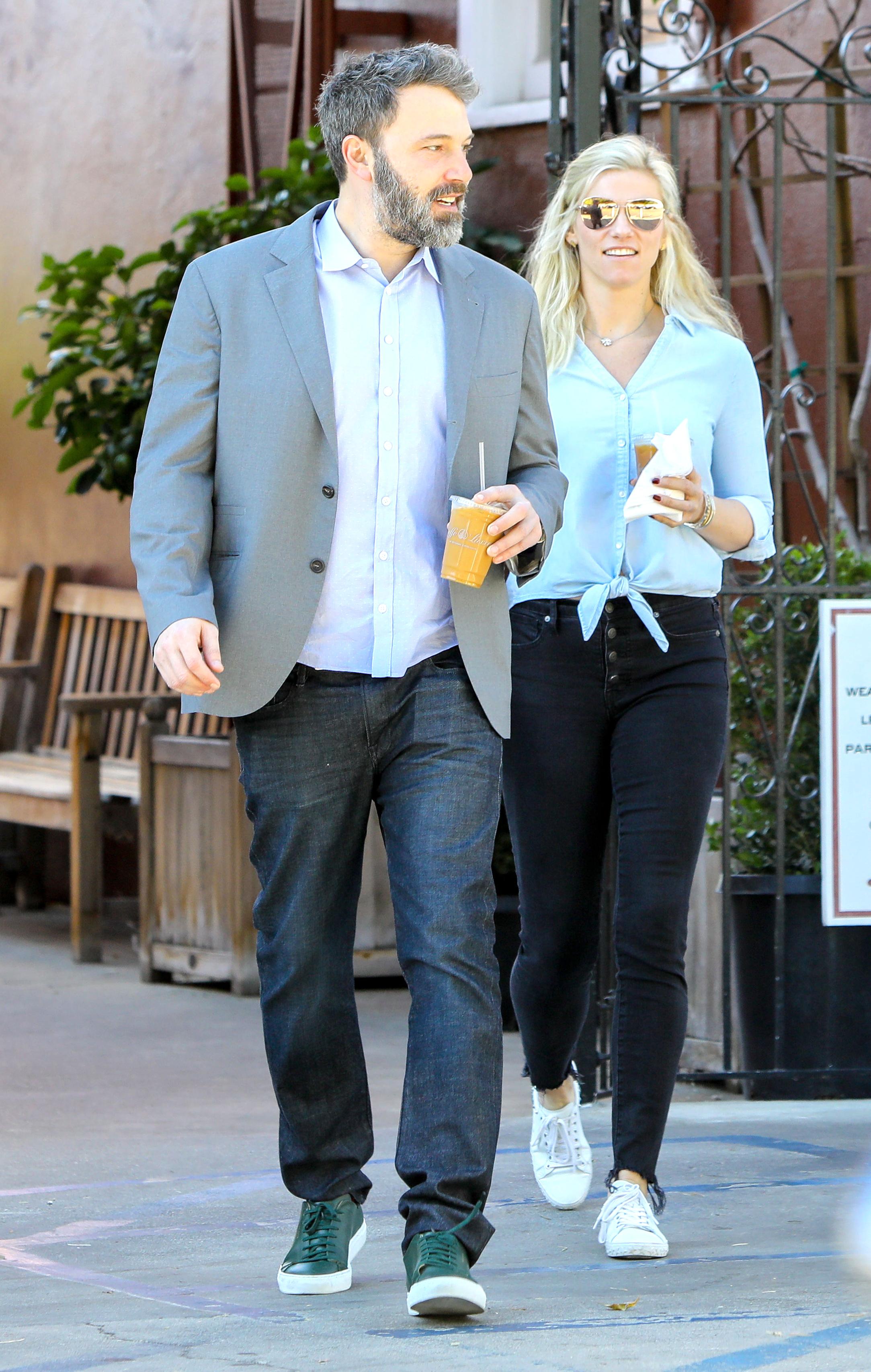 Ben Affleck i Lindsay Shookus