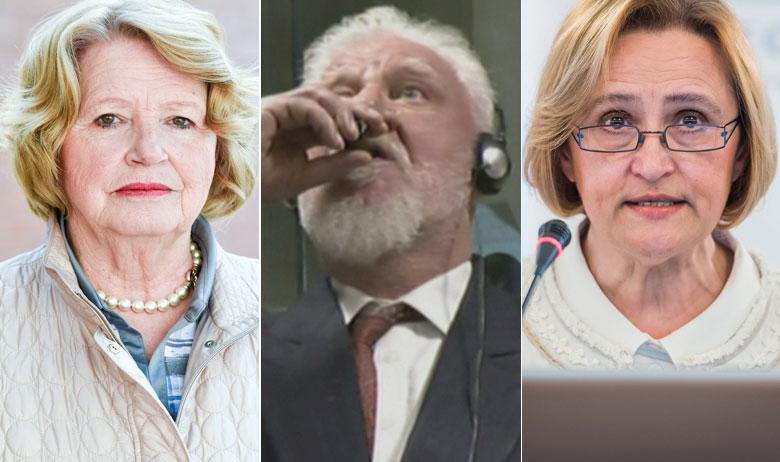 Nika Pinter, Slobodan Praljak, Vesna Alaburić
