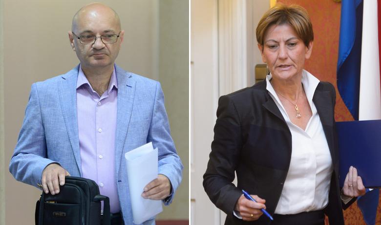Goran Aleksić i Martina Dalić