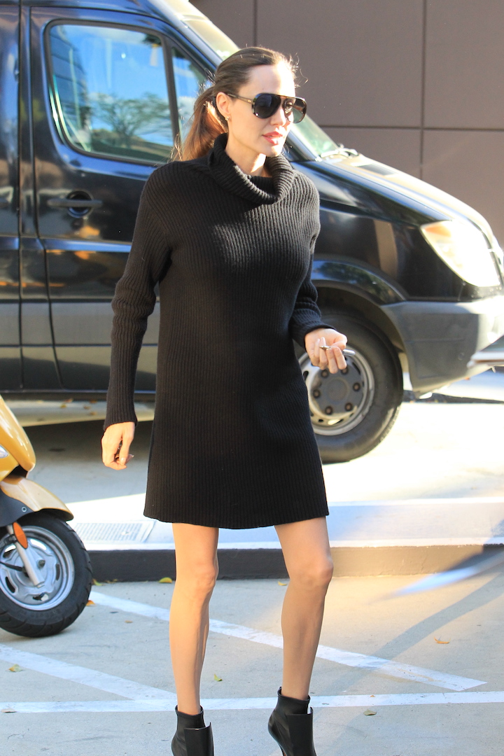 Angelina Jolie signs and poses for fans at the Directors Guild of America in Hollywood, CA. <P> Pictured: Angelina Jolie <B>Ref: SPL1616943  041117  </B><BR/> Picture by: Splash News<BR/> </P><P> <B>Splash News and Pictures</B><BR/> Los Angeles:	310-821-2666<BR/> New York:	212-619-2666<BR/> London:	870-934-2666<BR/> <span id=