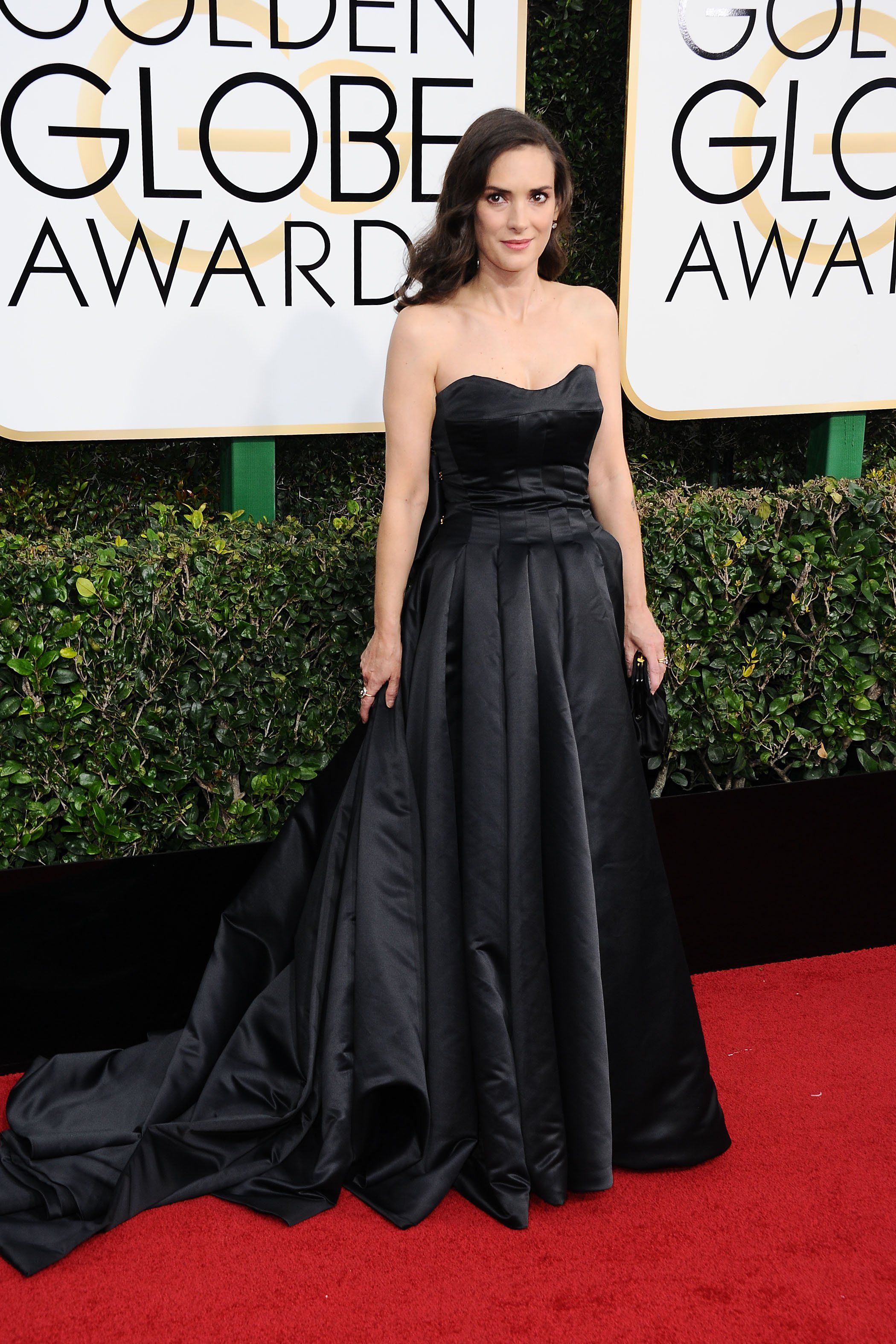 , Beverly Hills, CA -1/8/17-The 74th Annual Golden Globe Awards - Arrivals  -PICTURED: Winona Ryder -, Image: 310304722, License: Rights-managed, Restrictions: , Model Release: no, Credit line: Profimedia, INSTAR Images