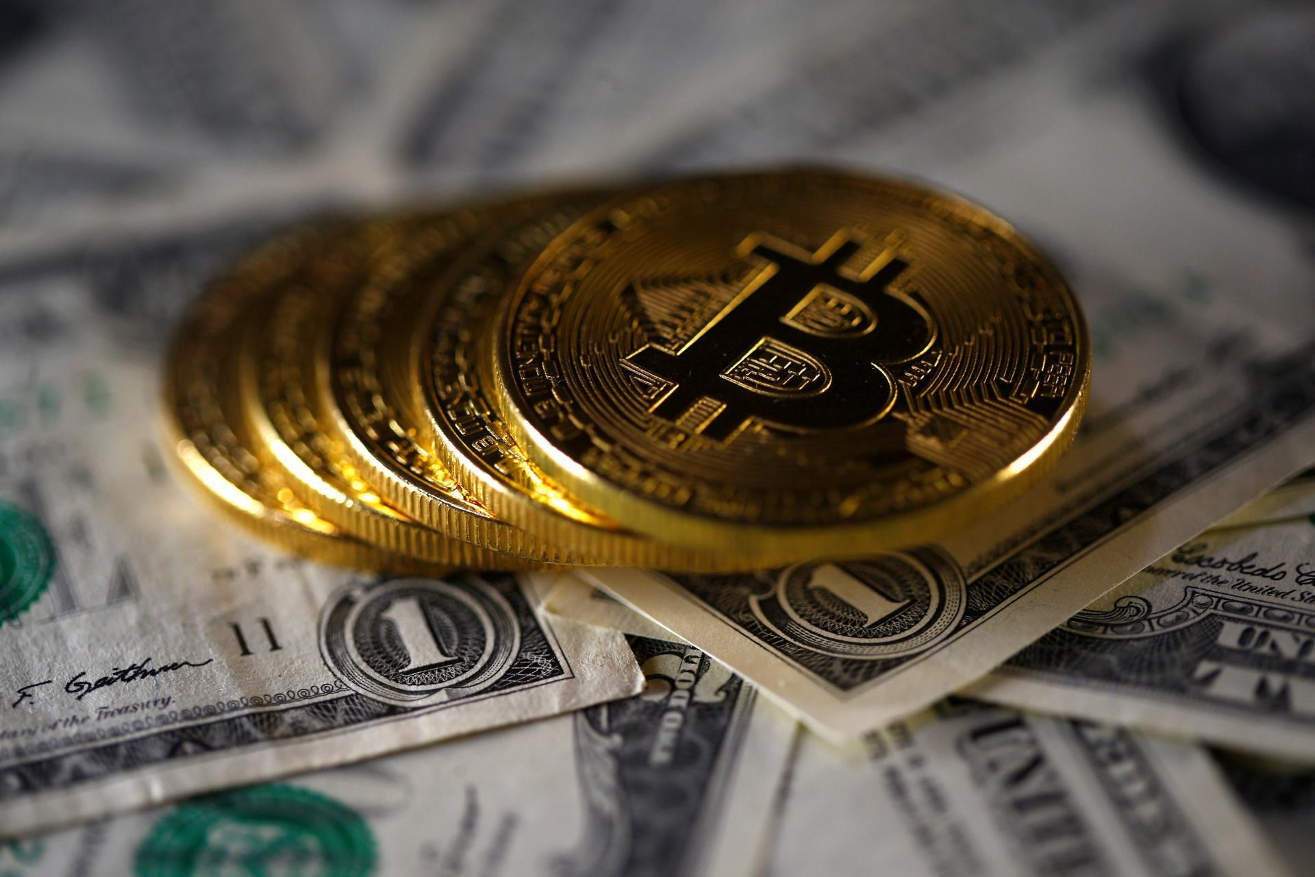 Bitcoin, ilustracija