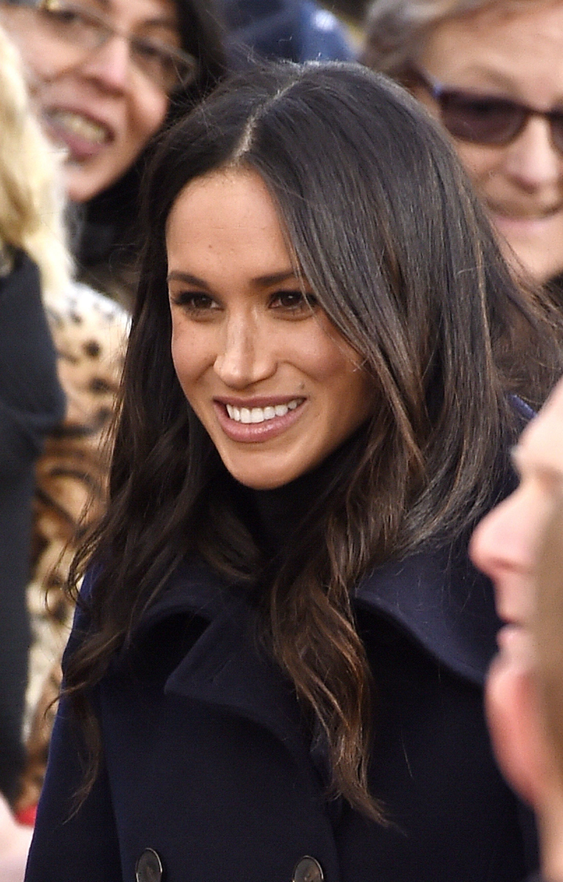 Nottingham, UNITED KINGDOM  - The newly-engaged couple Prince Harry and Meghan Markle make a public appearance during their visit to Nottingham raising awareness of – HIV/AIDS and youth crime. The couple visit the Nottingham Contemporary which will be hosting a Terrence Higgins Trust World AIDS Day charity fair.  Pictured: Meghan Markle  BACKGRID UK 1 DECEMBER 2017   UK: +44 208 344 2007 / uksales@backgrid.com  USA: +1 310 798 9111 / usasales@backgrid.com  *UK Clients - Pictures Containing Children Please Pixelate Face Prior To Publication*, Image: 356626320, License: Rights-managed, Restrictions: , Model Release: no, Credit line: Profimedia, Xposurephotos