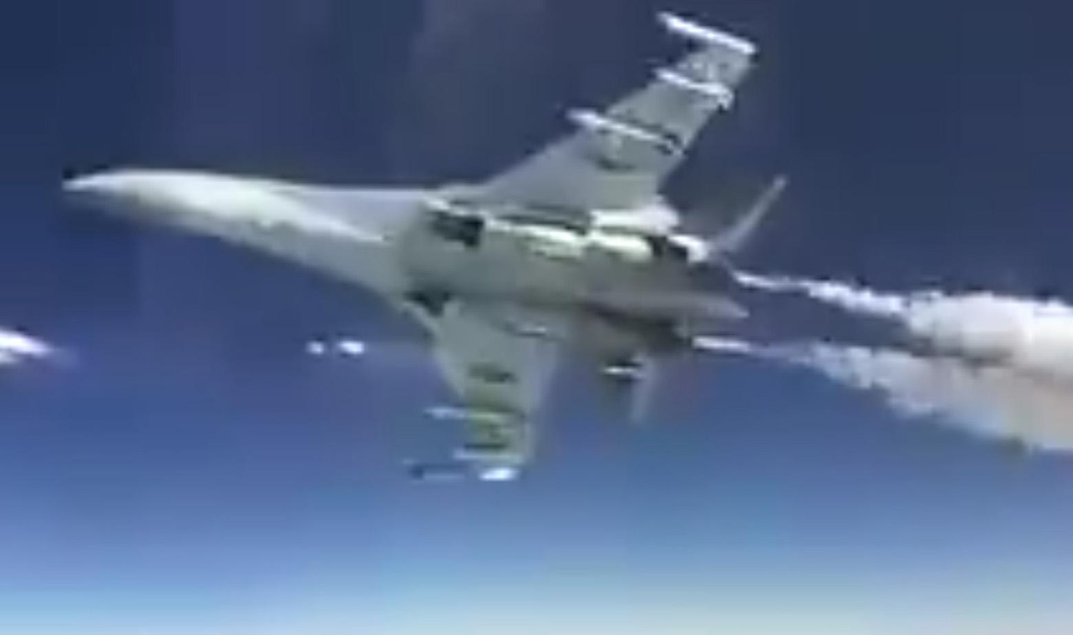 Suhoj Su-35 u letu