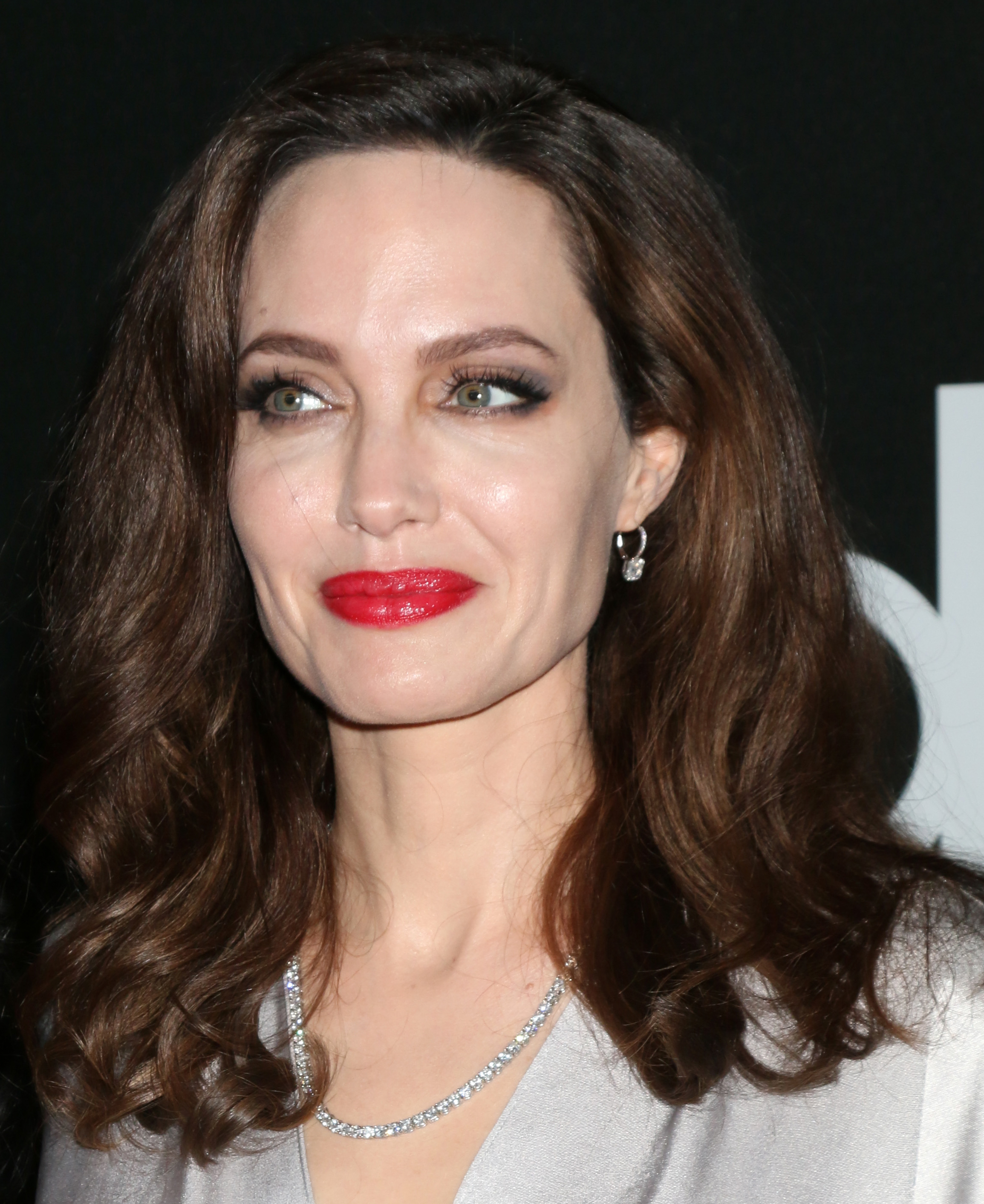 Celebrities arrive at the 21st Annual Hollywood Film Awards at The Beverly Hilton Hotel in Beverly Hills, California. <P> Pictured: Angelina Jolie <B>Ref: SPL1617147  051117  </B><BR/> Picture by: @ParisaMichelle / Splash News<BR/> </P><P> <B>Splash News and Pictures</B><BR/> Los Angeles:310-821-2666<BR/> New York:212-619-2666<BR/> London:870-934-2666<BR/> <span id=