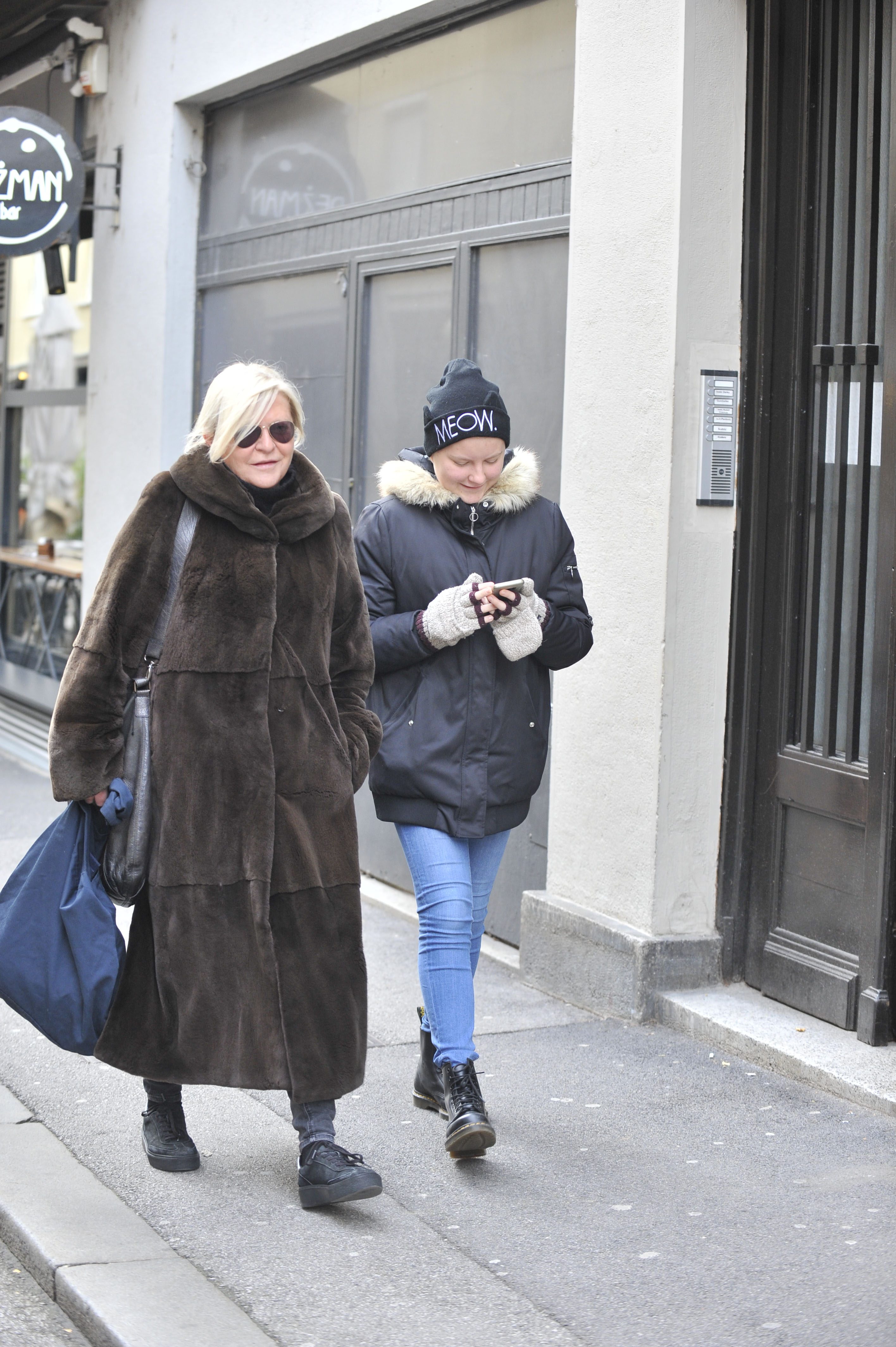 Spica / Zagreb 02.2017. / foto: Maja Jurovic / Zeljka Ogresta i kcer Marta