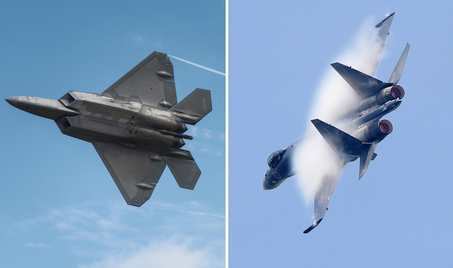 F-22 Raptor i Suhoj Su-35