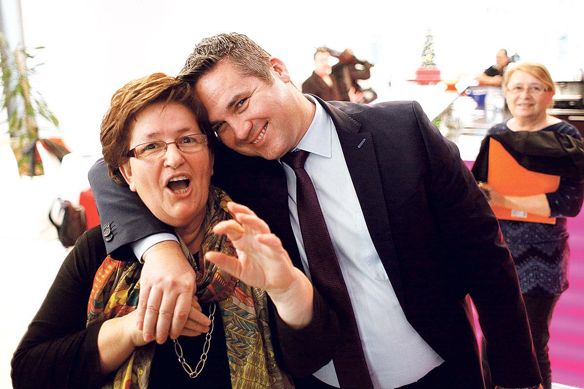 Predsjednici uprava Kraša i Podravke Marica Vidaković i Marin Pucar