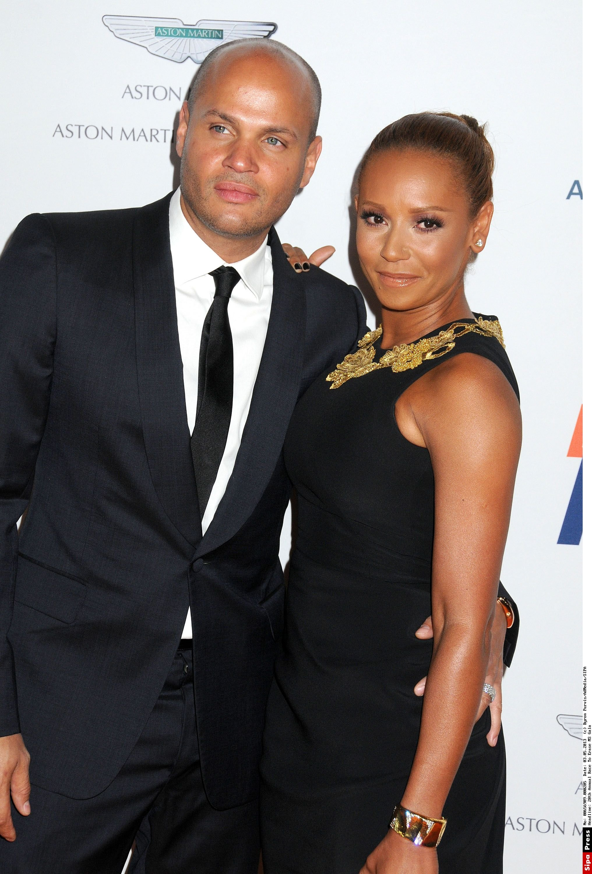 3 May 2013 - Century City, California - Stephen Belafonte, Melanie Brown, Mel B. 20th Annual Race To Erase MS Gala held at the Hyatt Regency Century Plaza Hotel. Photo Credit: Byron Purvis/AdMedia/ADMEDIA_adm_RaceToErase2013_BP_206/Credit:Byron Purvis/AdMedia/SIPA/1305041217, Image: 232333560, License: Rights-managed, Restrictions: , Model Release: no, Credit line: Profimedia, TEMP Sipa Press